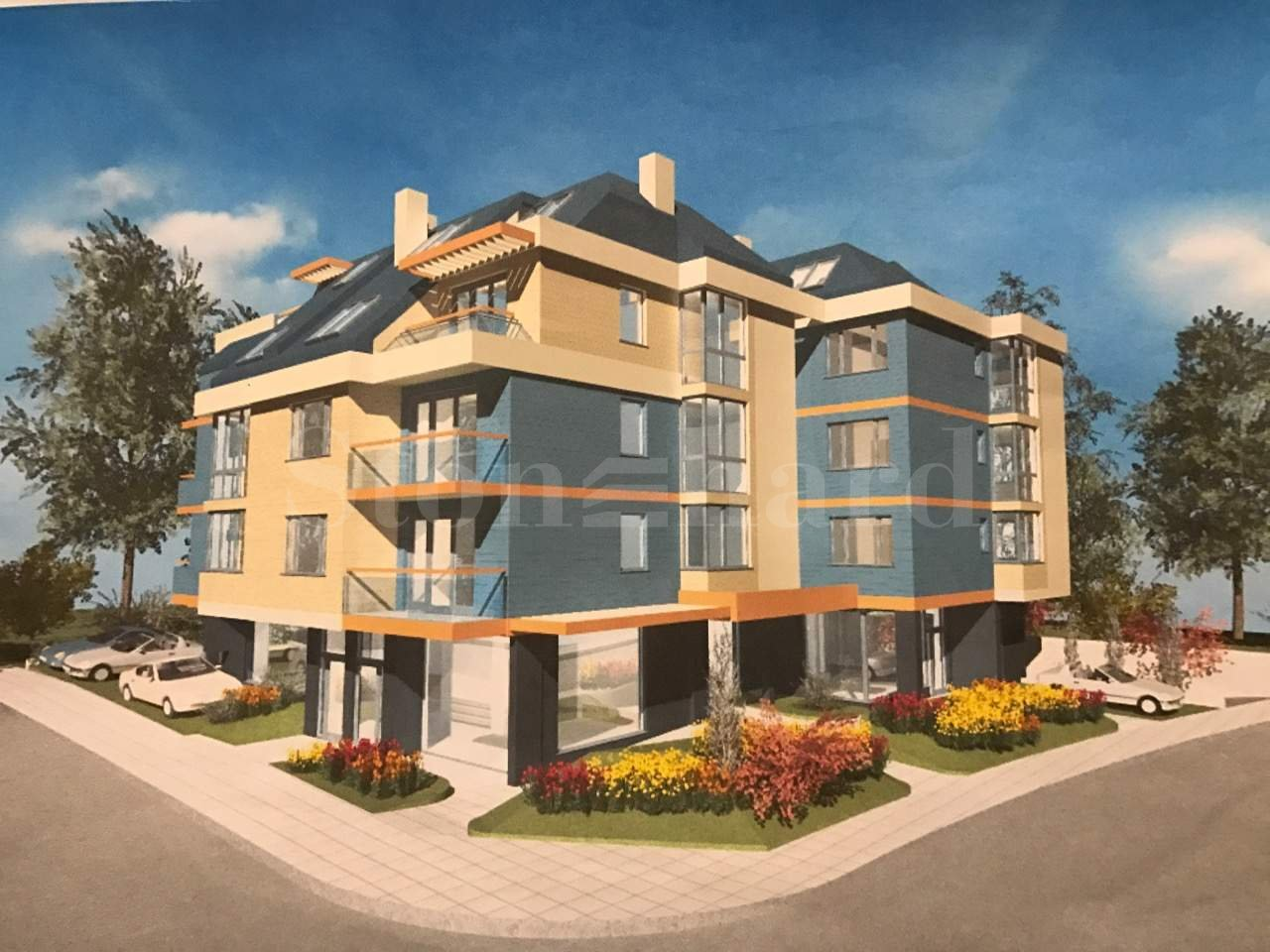 Sunny new building with quick access to Simeonovsko Shose Blvd. 1 - Stonehard