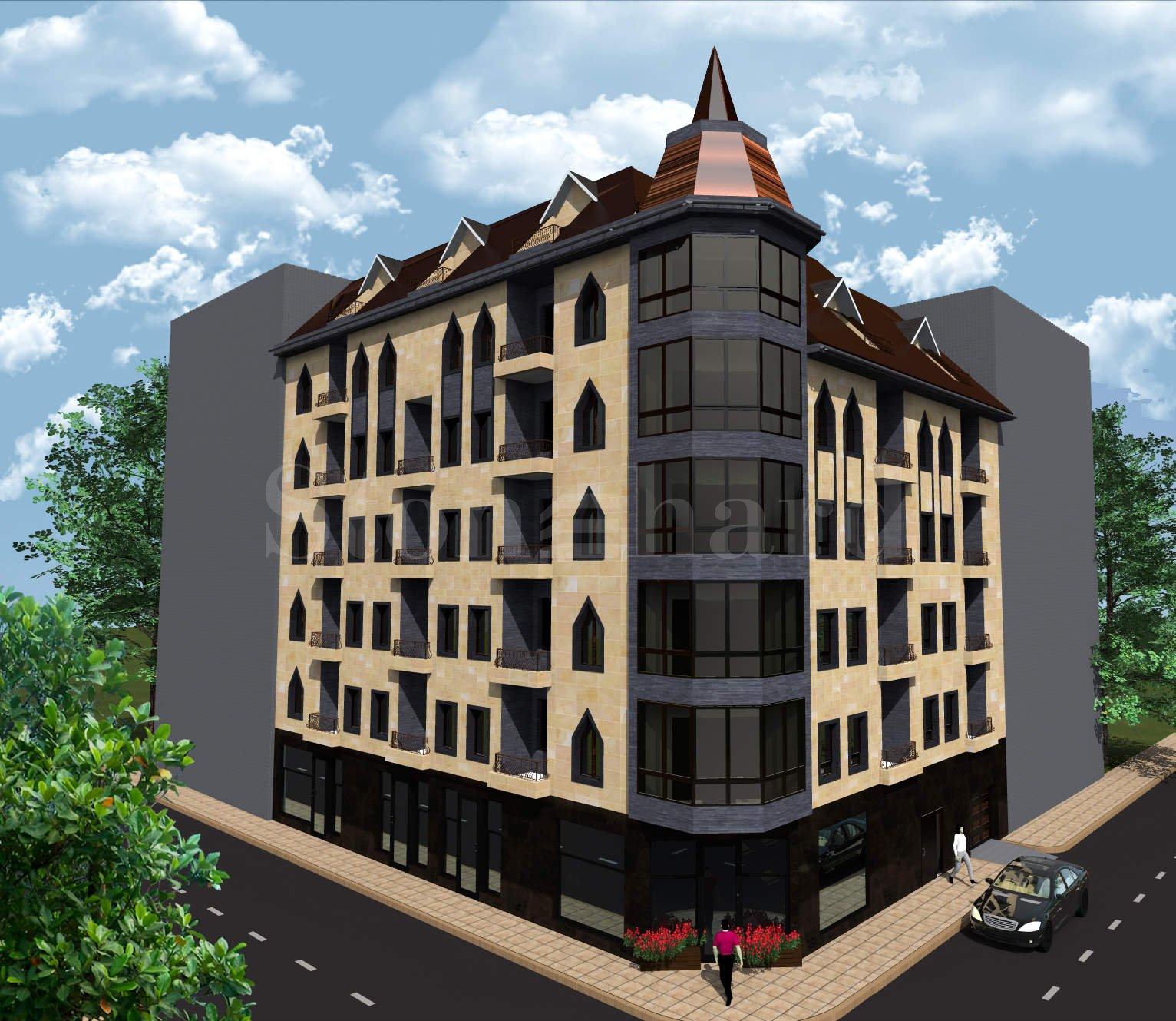 Хубава нова сграда с апартаменти в широкия център на София  1 - Stonehard