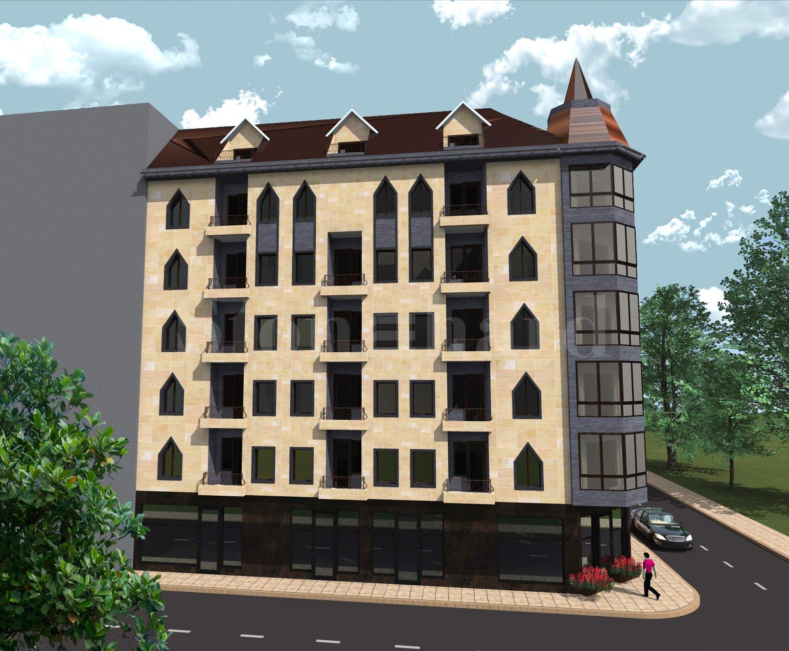 Хубава нова сграда с апартаменти в широкия център на София  2 - Stonehard