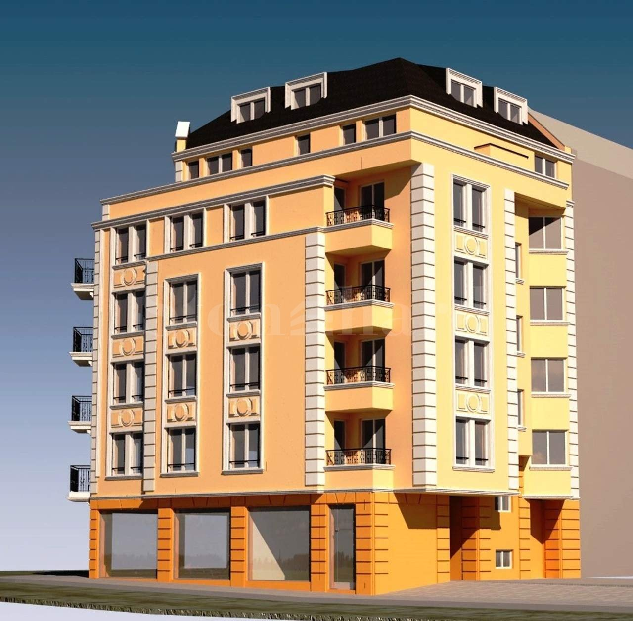 Stylish residential building in the central part of Sofia2 - Stonehard