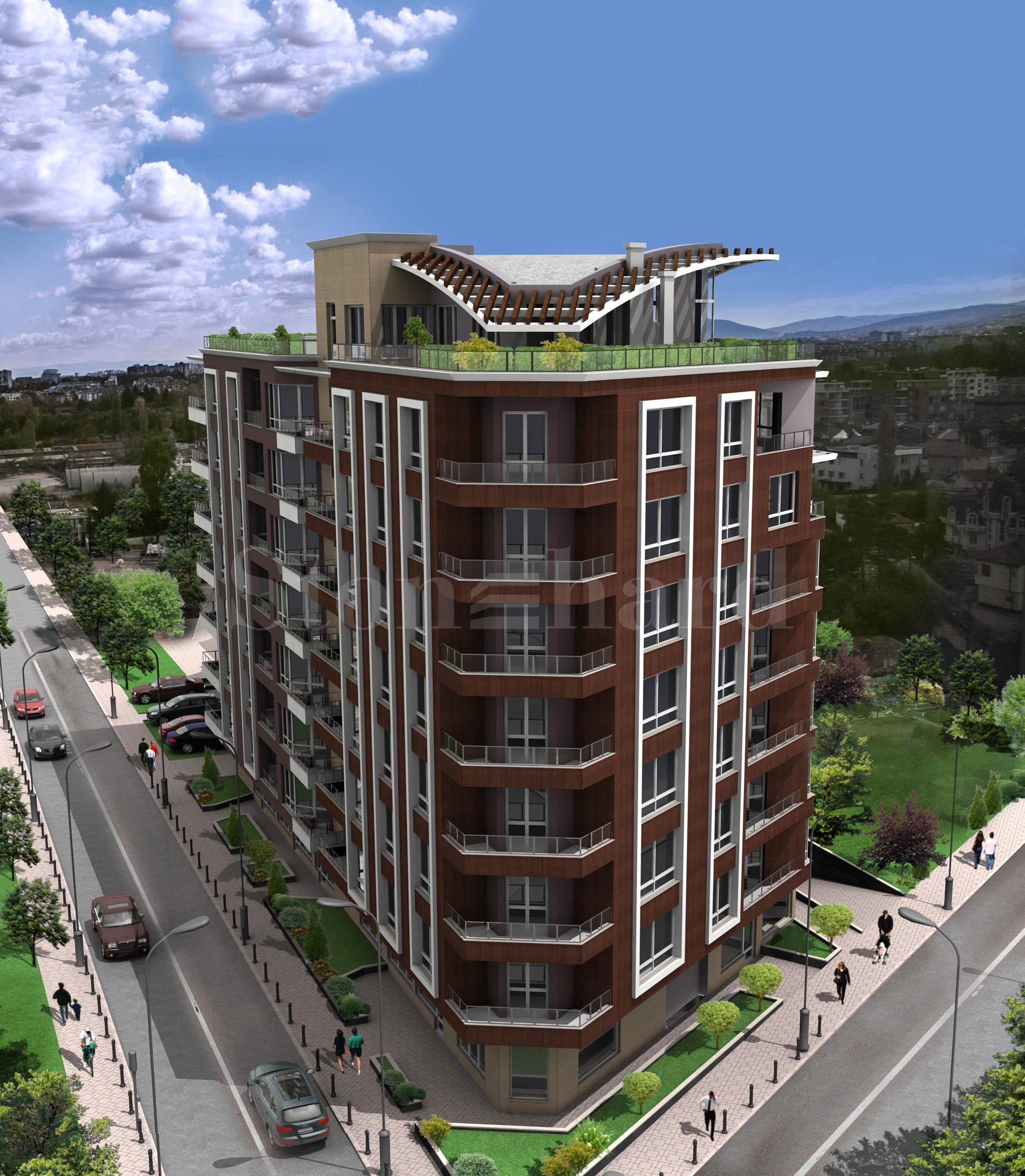 Малък комплекс от две сгради с апартаменти до бул. Черни връх и Mall Paradise1 - Stonehard