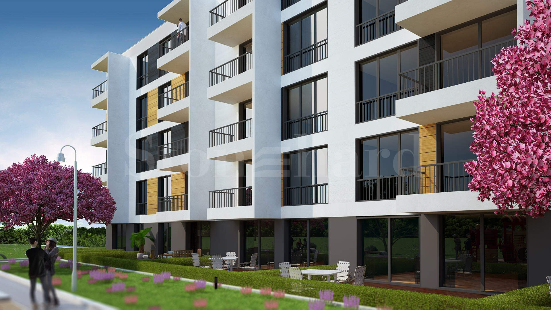 Жилищна сграда с луксозни апартаменти и подземен гараж1 - Stonehard