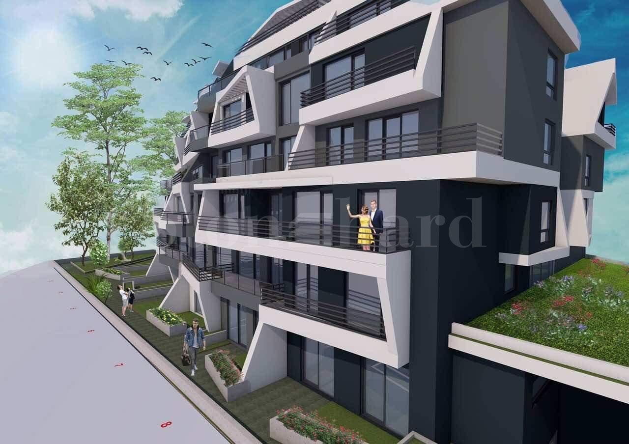 Жилищна сграда с модерен дизайн до Мол Парадайз Център1 - Stonehard
