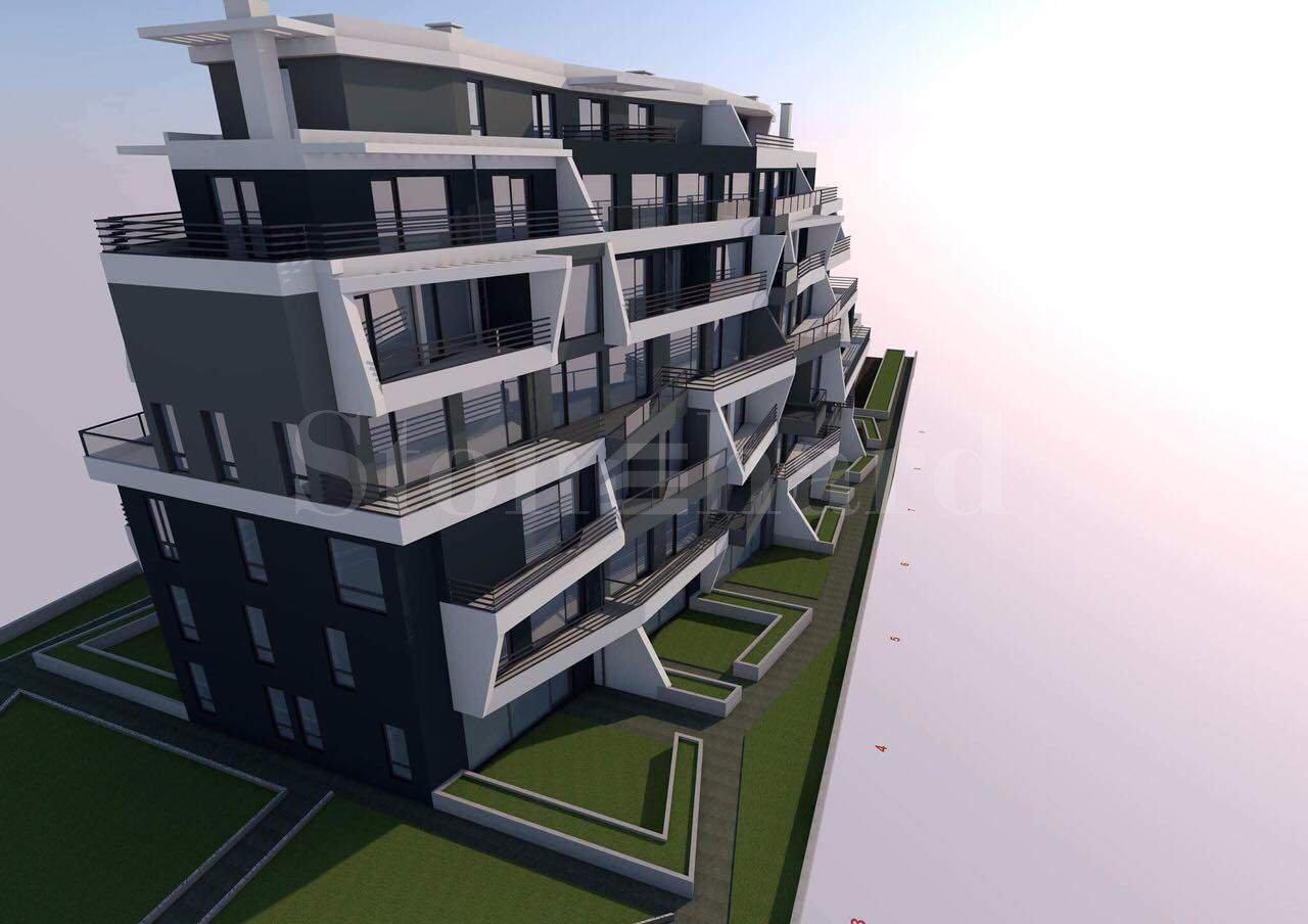 Жилищна сграда с модерен дизайн до Мол Парадайз Център2 - Stonehard