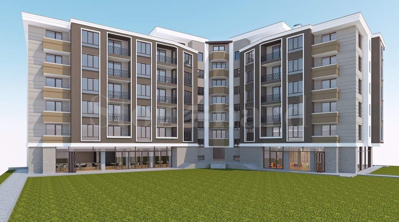 Стилна жилищна сграда до Бизнес Парк София1 - Stonehard