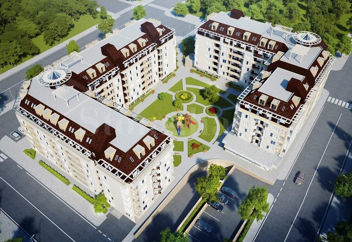 Новостроящ се жилищен комплекс от две сгради в кв. Младост 42 - Stonehard