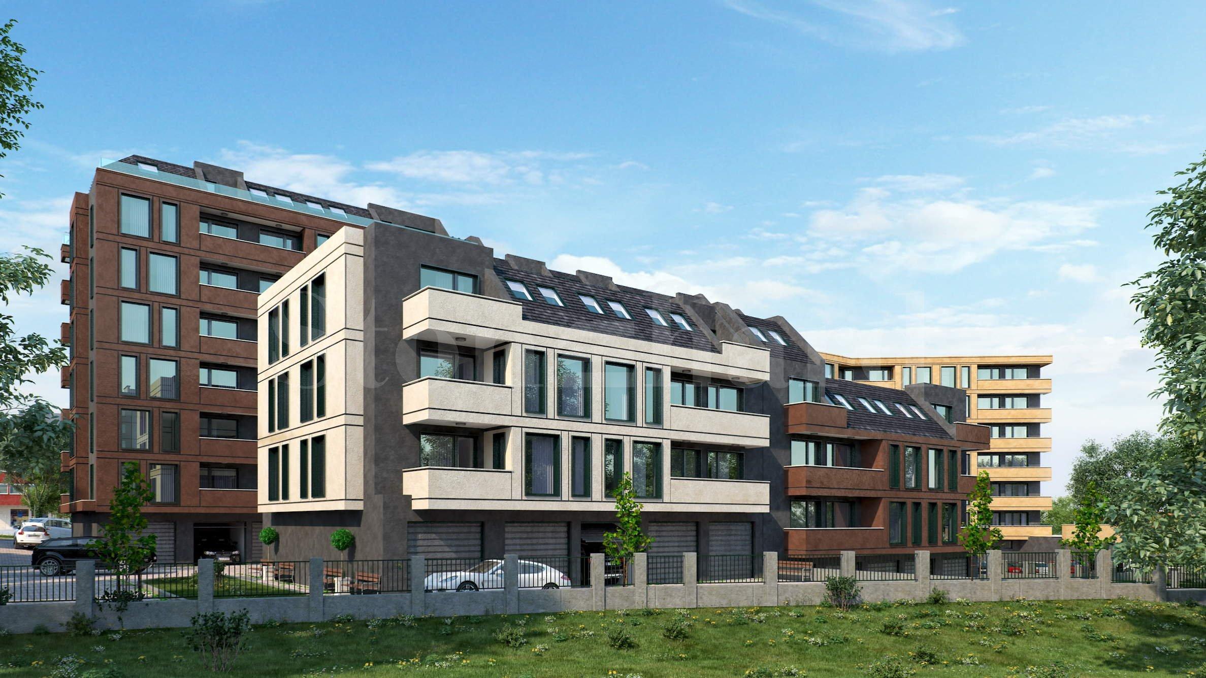 Нова жилищна сграда с апартаменти и гаражи, част от голям комплекс1 - Stonehard