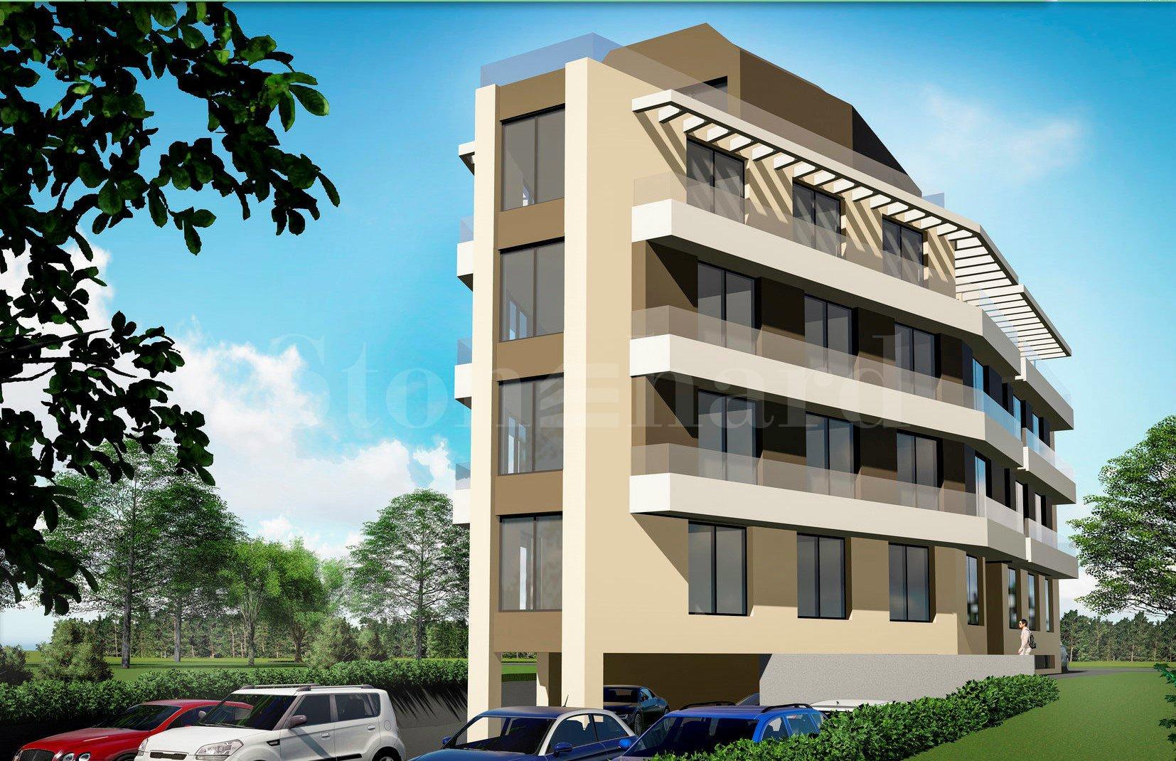 Нова сграда с двустайни и тристайни апартаменти, кв.