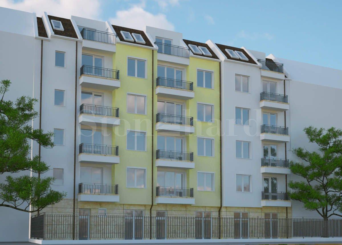 Новострояща се сграда с просторни апартаменти в квартал