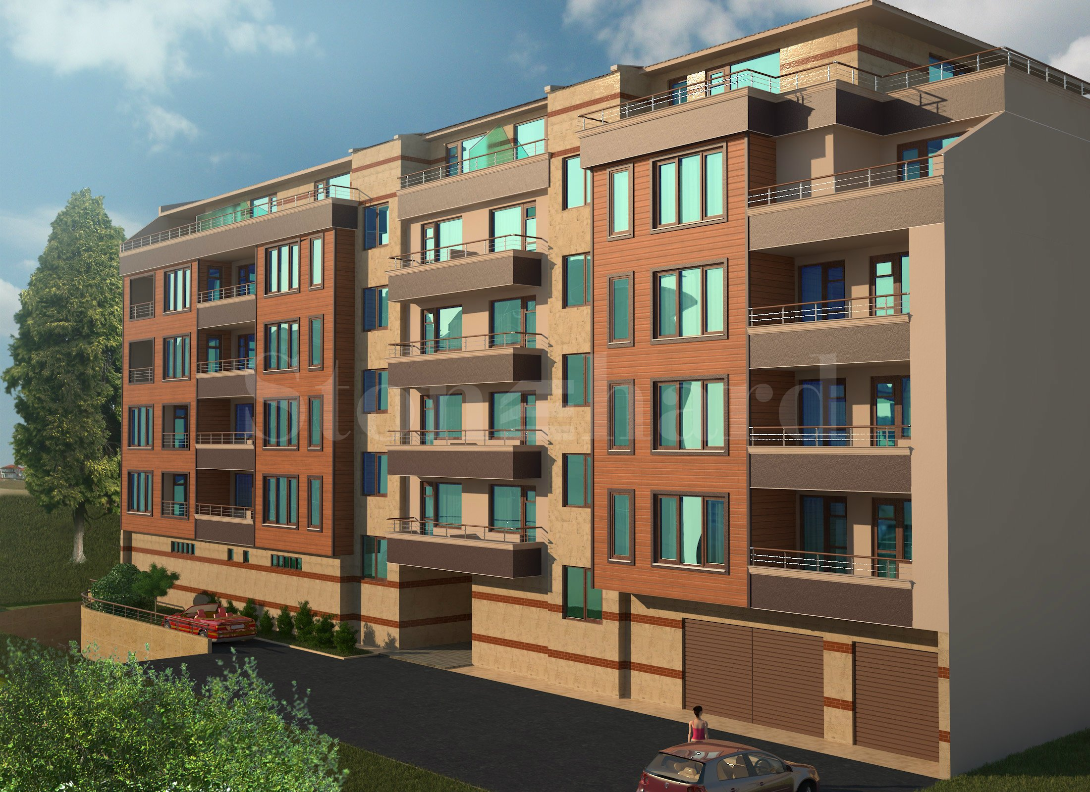 New residential building with enjoying an excellent location, Burgas city2 - Stonehard