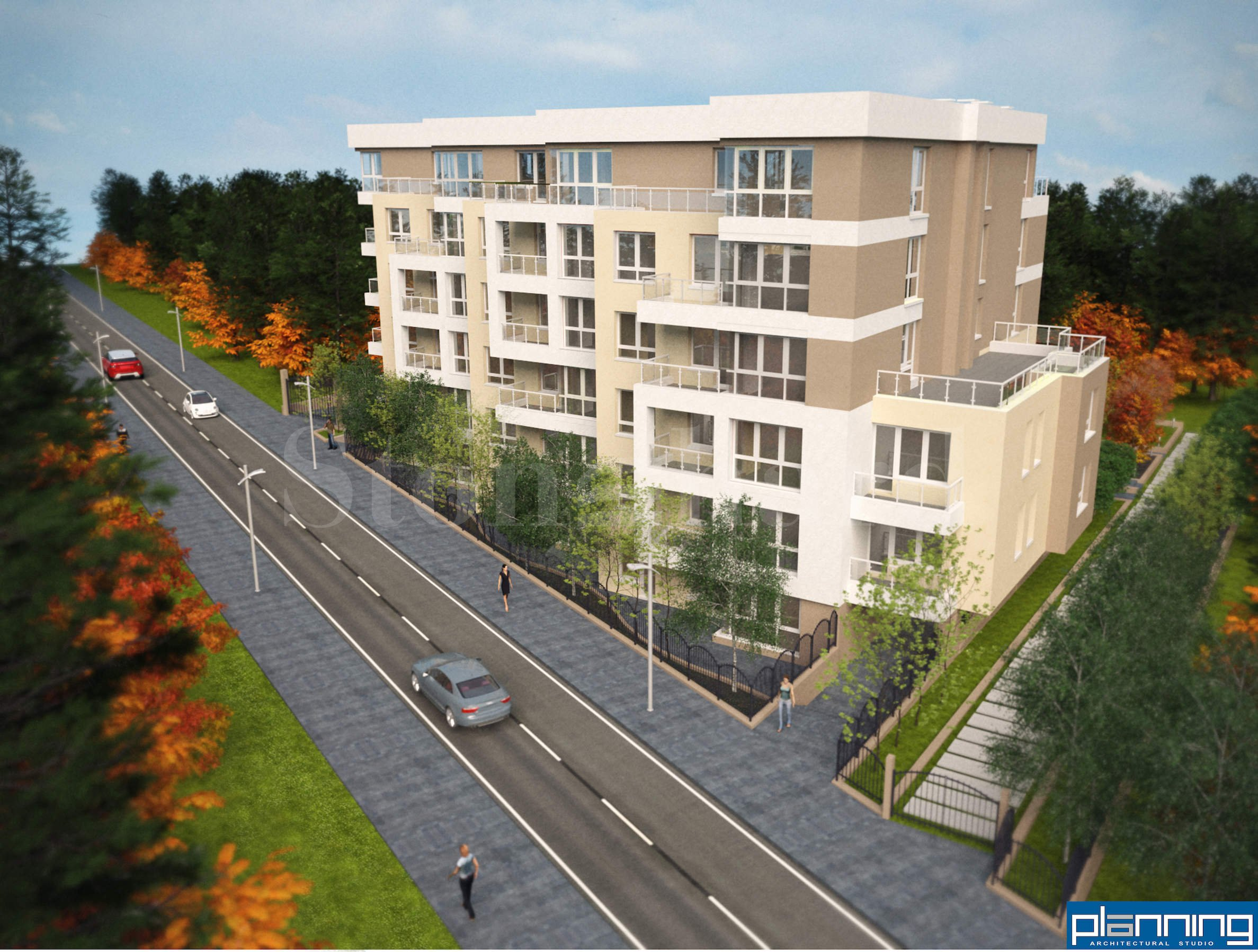 Modern gated complex with new apartments and many amenities in Vitosha District1 - Stonehard
