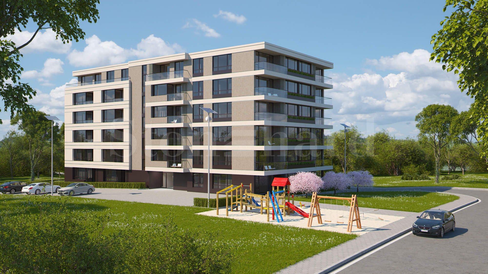 Нова жилищна сграда с апартаменти и подземни гаражи в кв. Малинова долина1 - Stonehard
