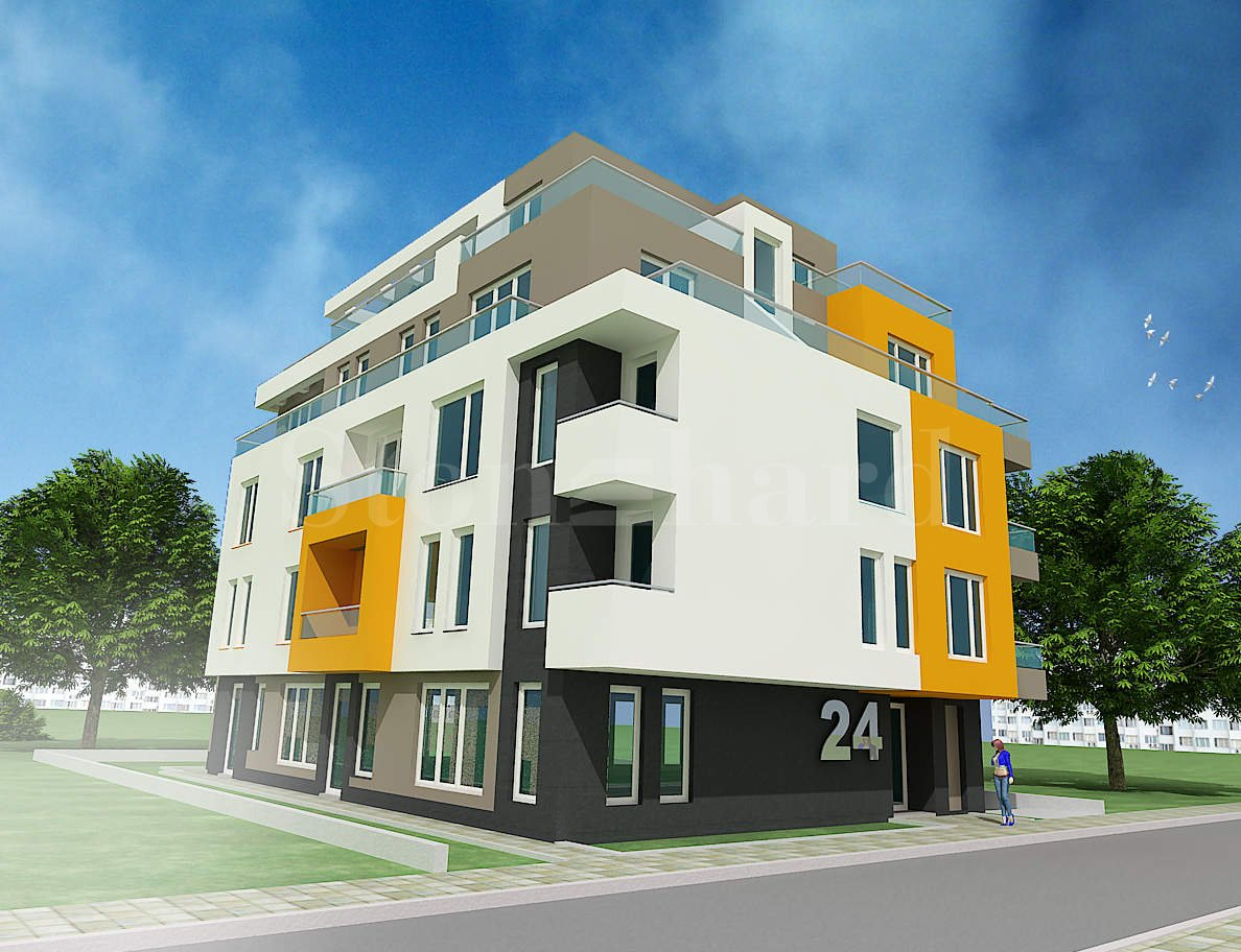 Residential building with apartments near Paradise Center Mall1 - Stonehard