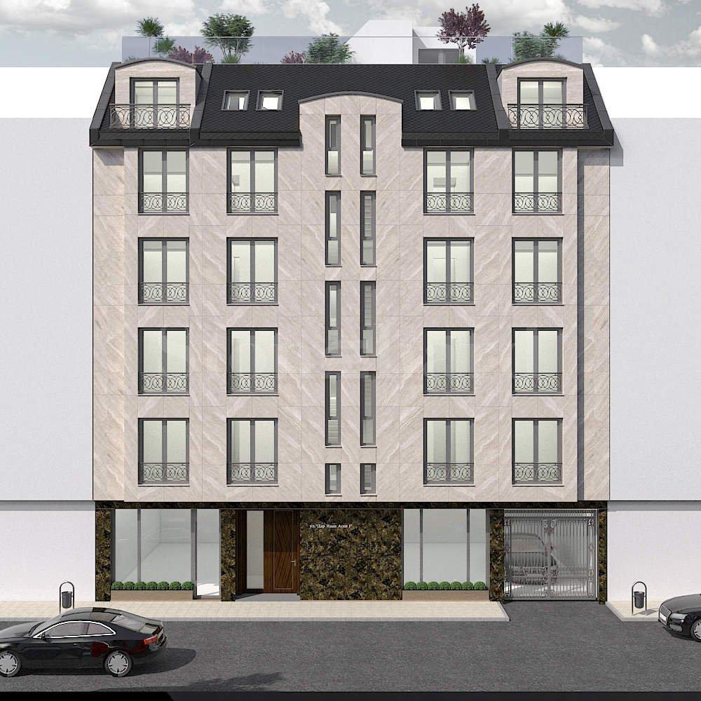 Нова сграда с апартаменти в центъра, до бул. Витоша1 - Stonehard