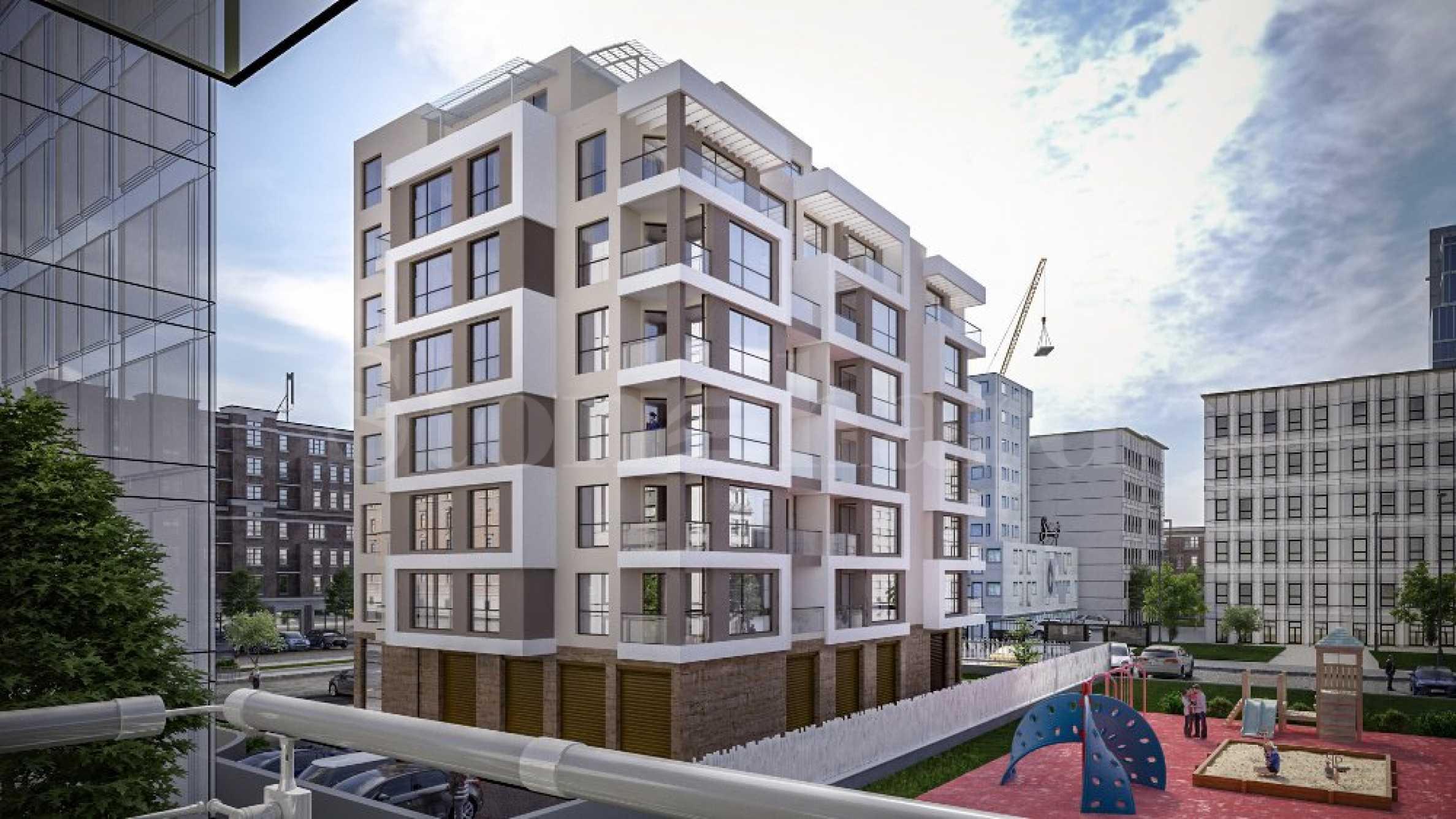 Нова жилищна сграда с модерни апартаменти в ж.к.