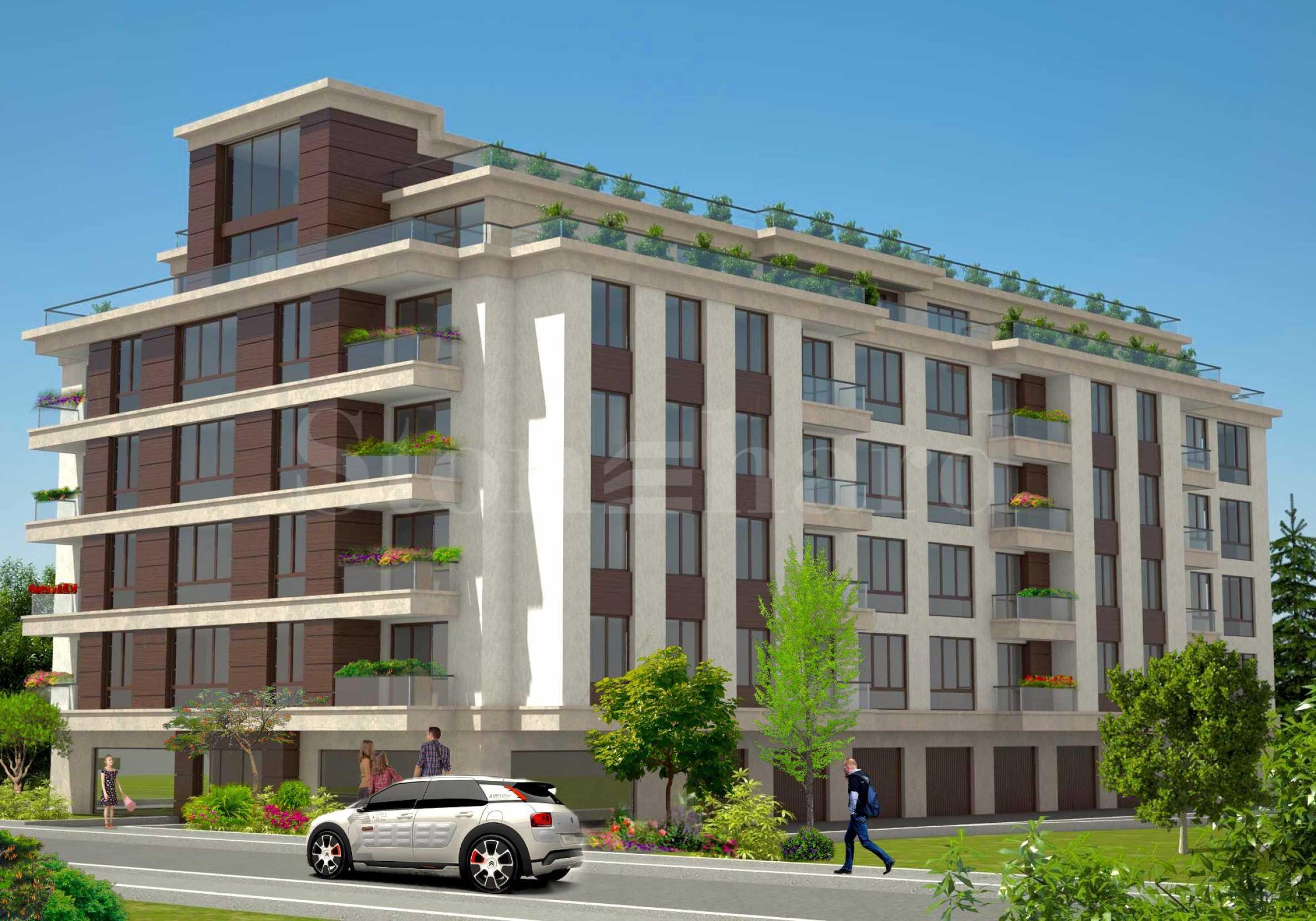 Последни апартаменти до МОЛ България2 - Stonehard