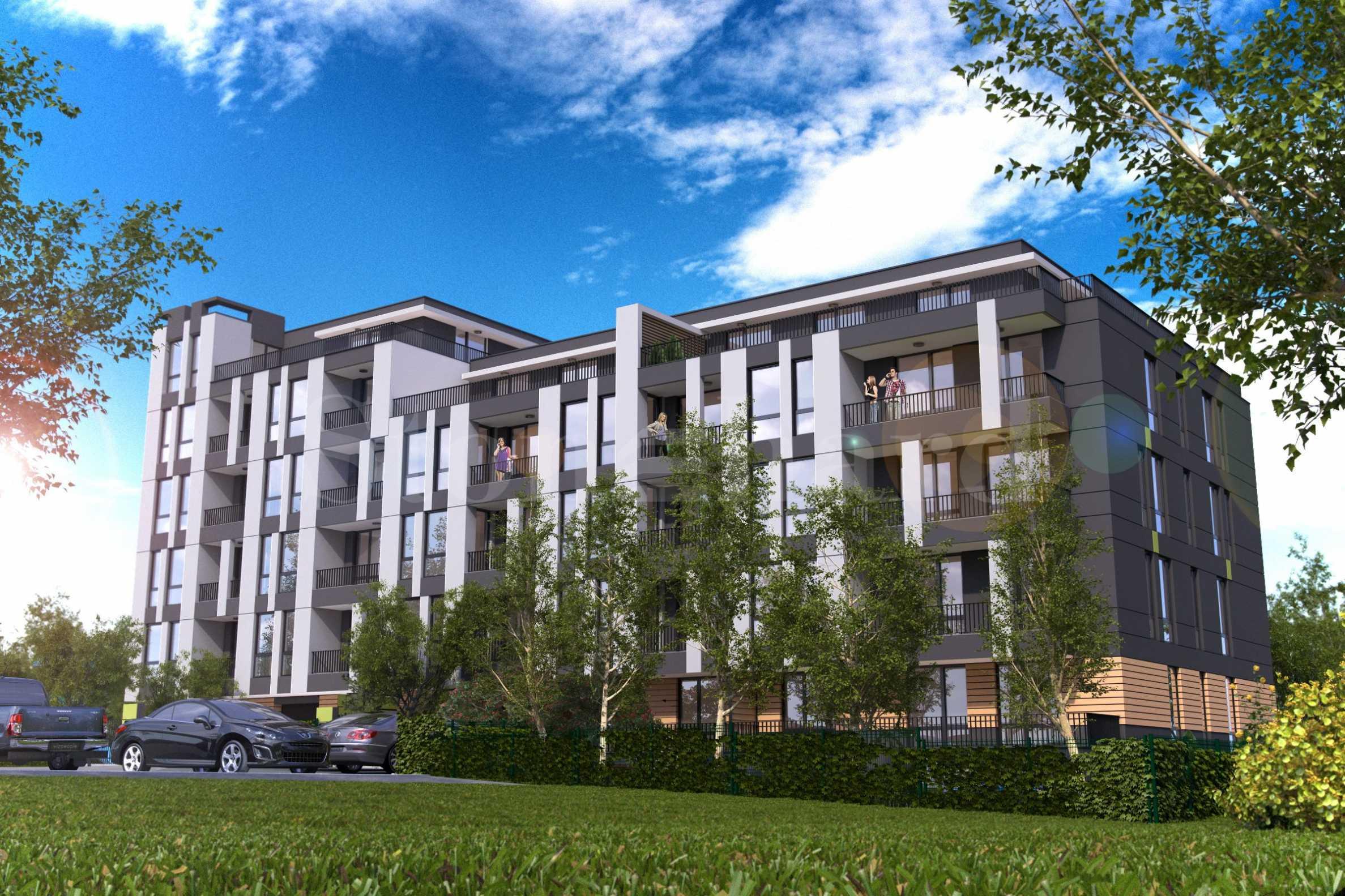 Нова жилищна сграда с контролиран достъп и богато озеленяване2 - Stonehard