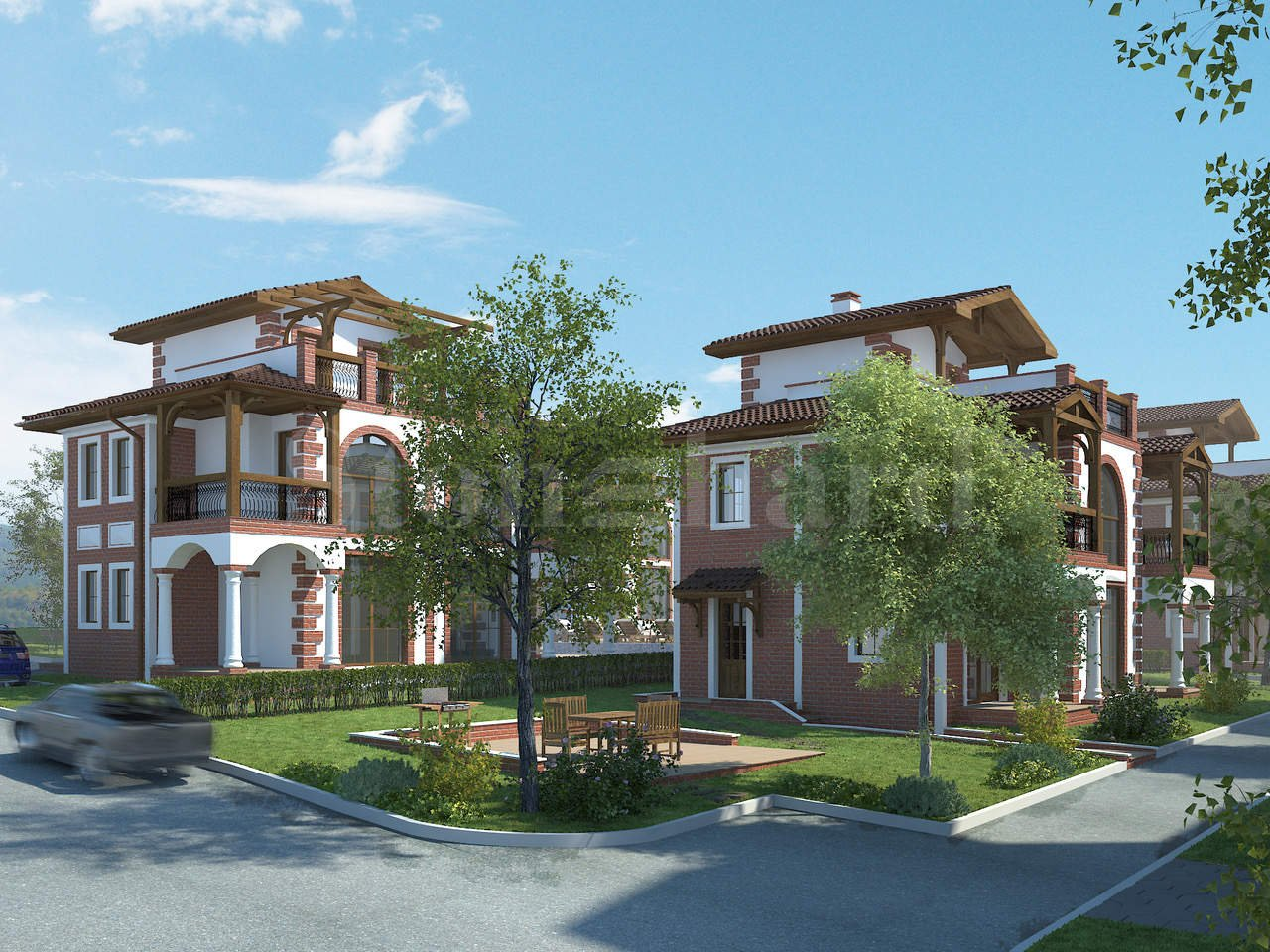 Dream house in a new complex in an ecological area of Kosharitsa2 - Stonehard