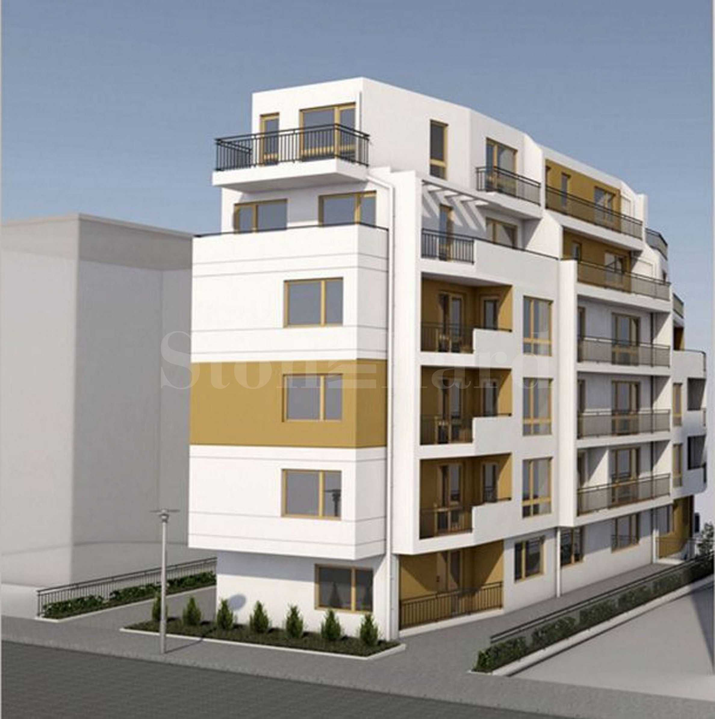 Newly built contemporary building in the best neighborhood of Burgas2 - Stonehard