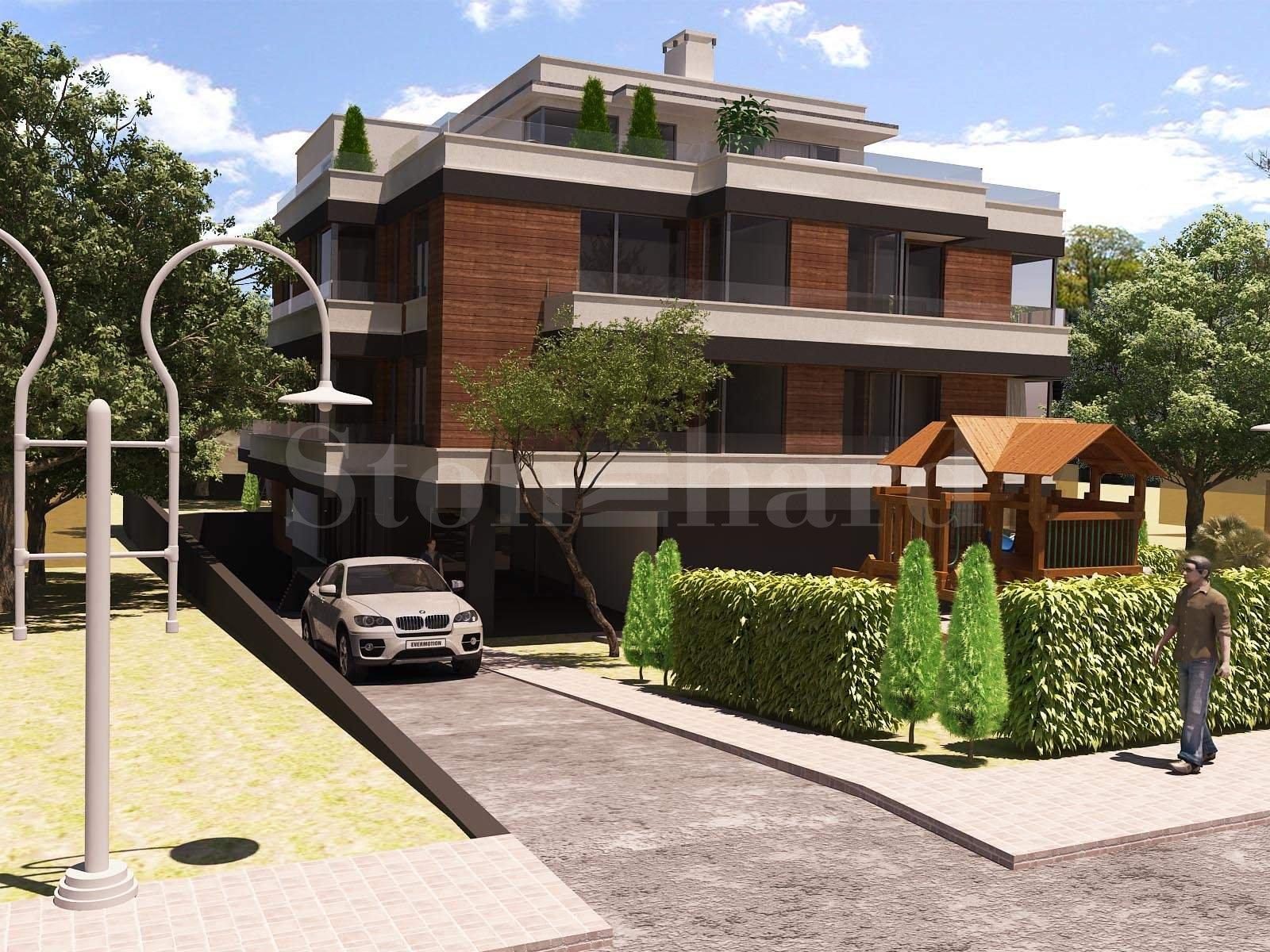 Нова жилищна сграда с просторни апартаменти в кв.