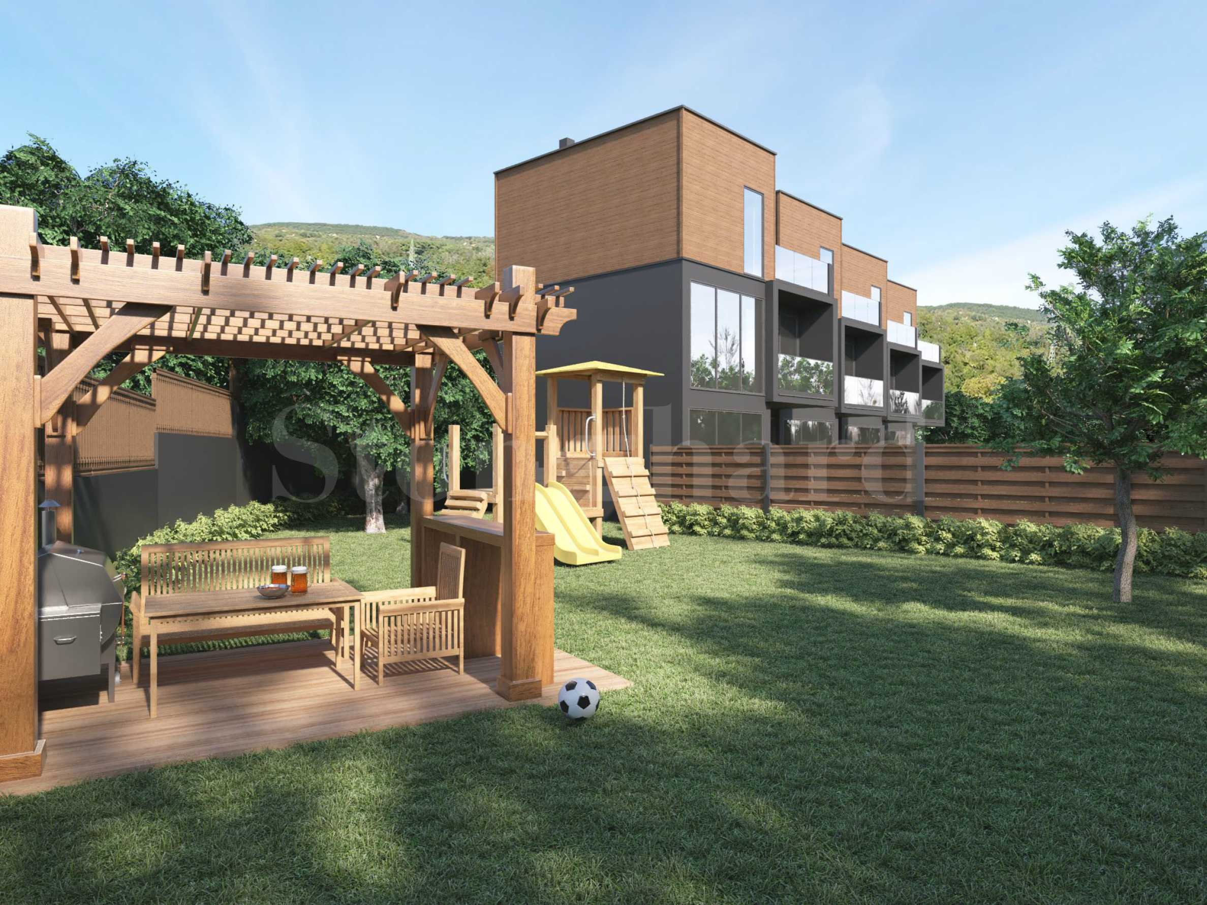 Къща на три етажа с три спални и панорамна тераса2 - Stonehard