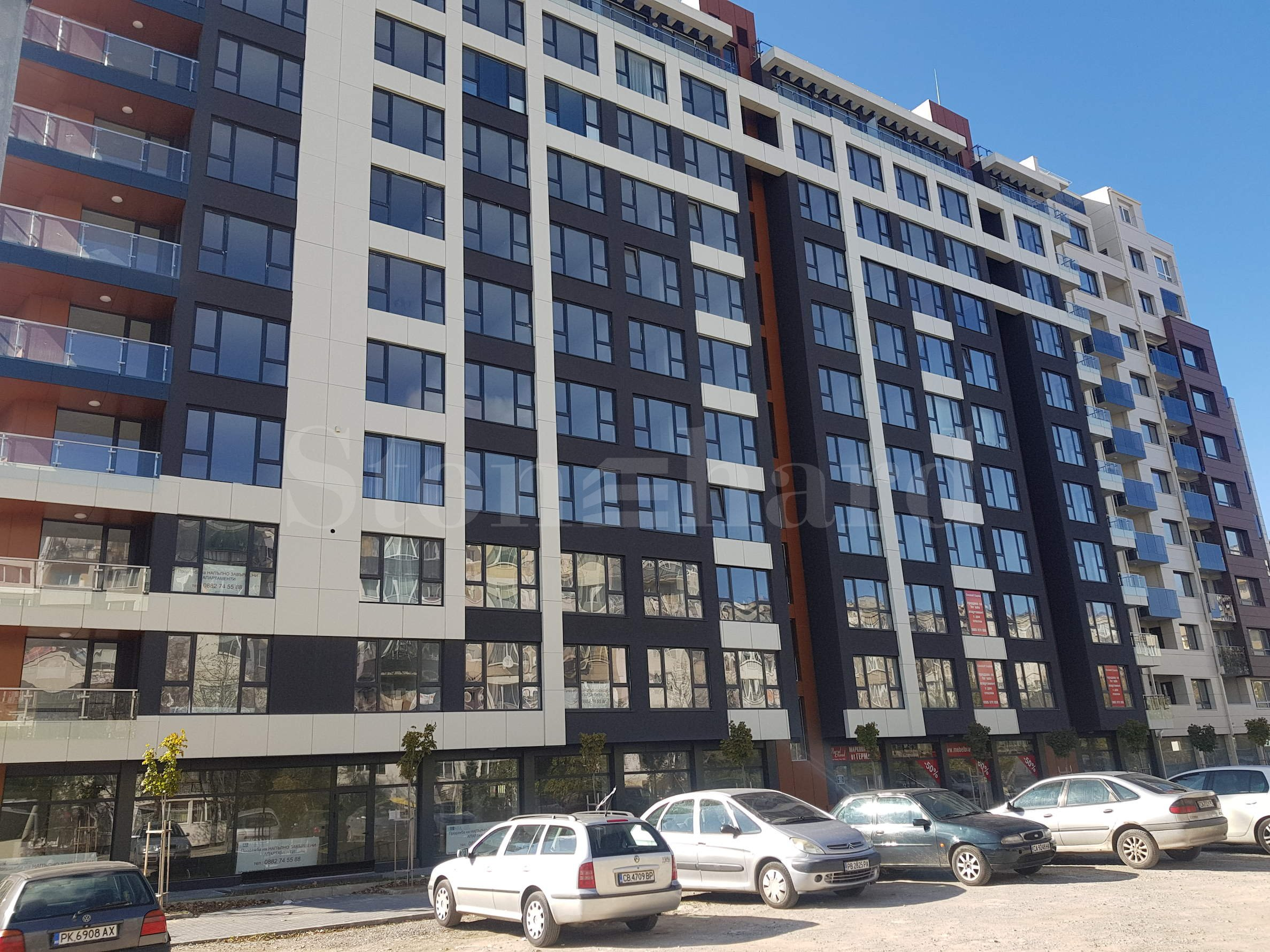 Newly built residential building with a convenient location close to Bulgaria Mall2 - Stonehard