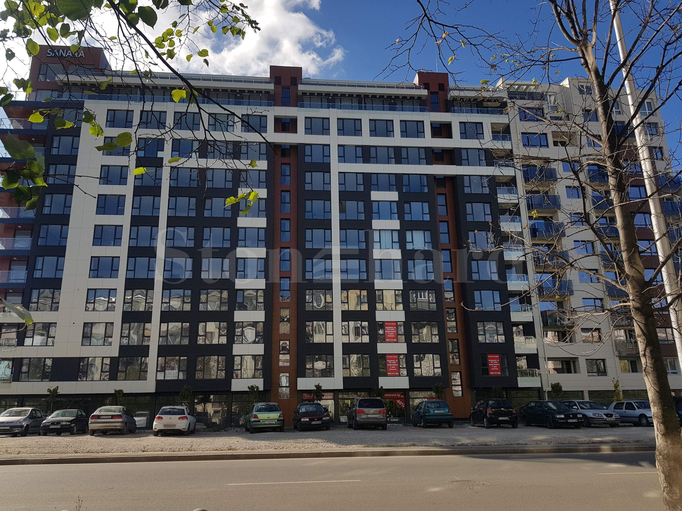 Newly built residential building with a convenient location close to Bulgaria Mall1 - Stonehard