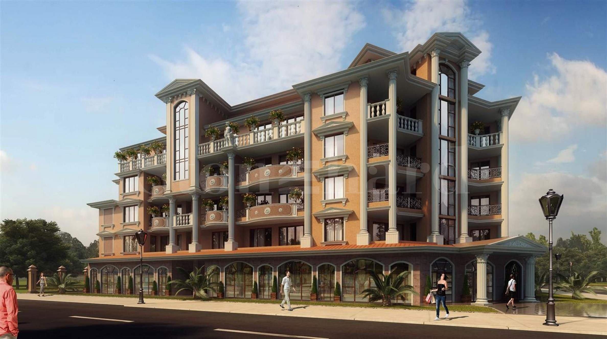 Голям избор от апартаменти в елегантен комплекс с Акт 16, Поморие1 - Stonehard