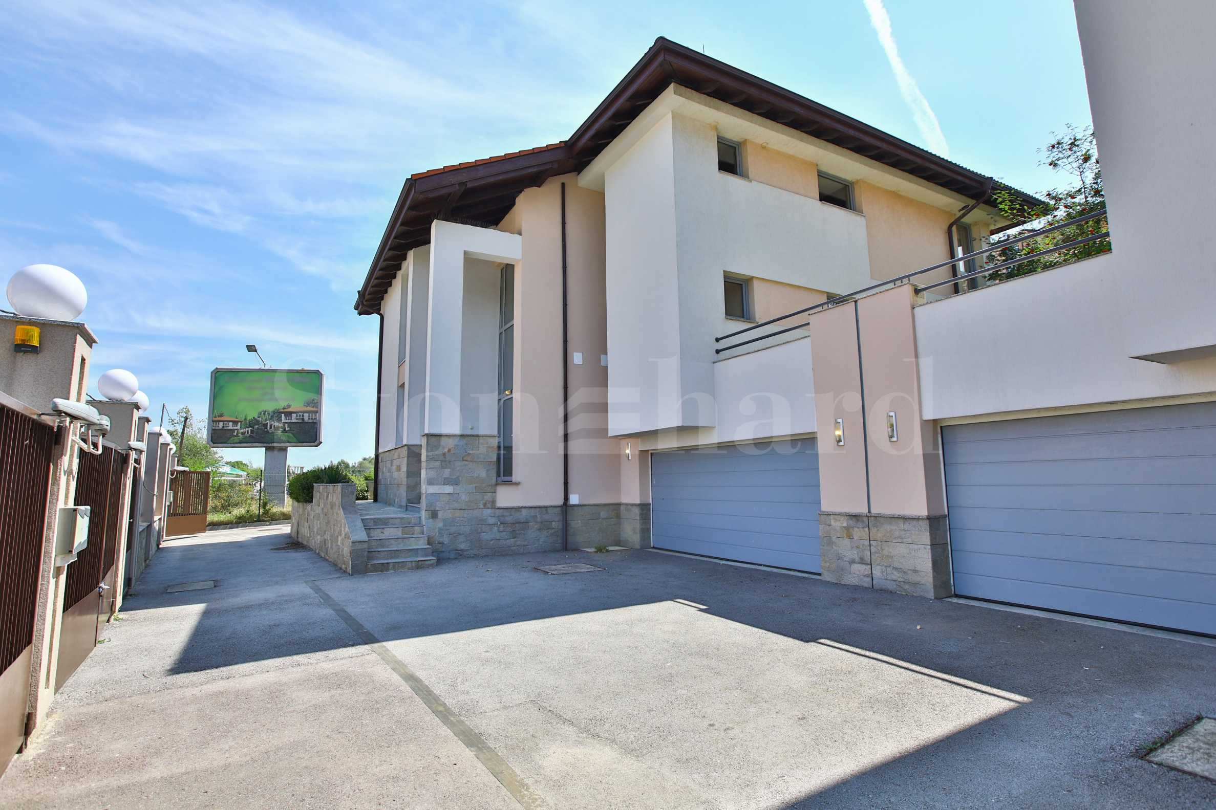 2-storey houses in a fully completed gated complex, Boyana district2 - Stonehard
