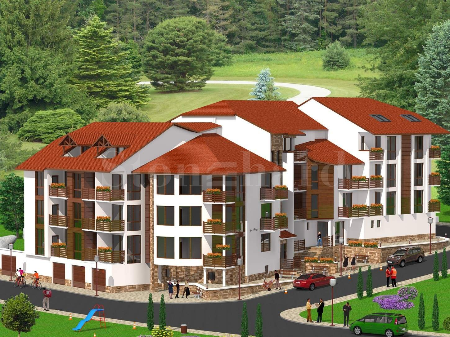 Apartments in a new-build residential building in Velingrad1 - Stonehard