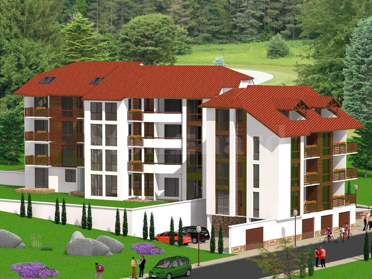 Apartments in a new-build residential building in Velingrad2 - Stonehard