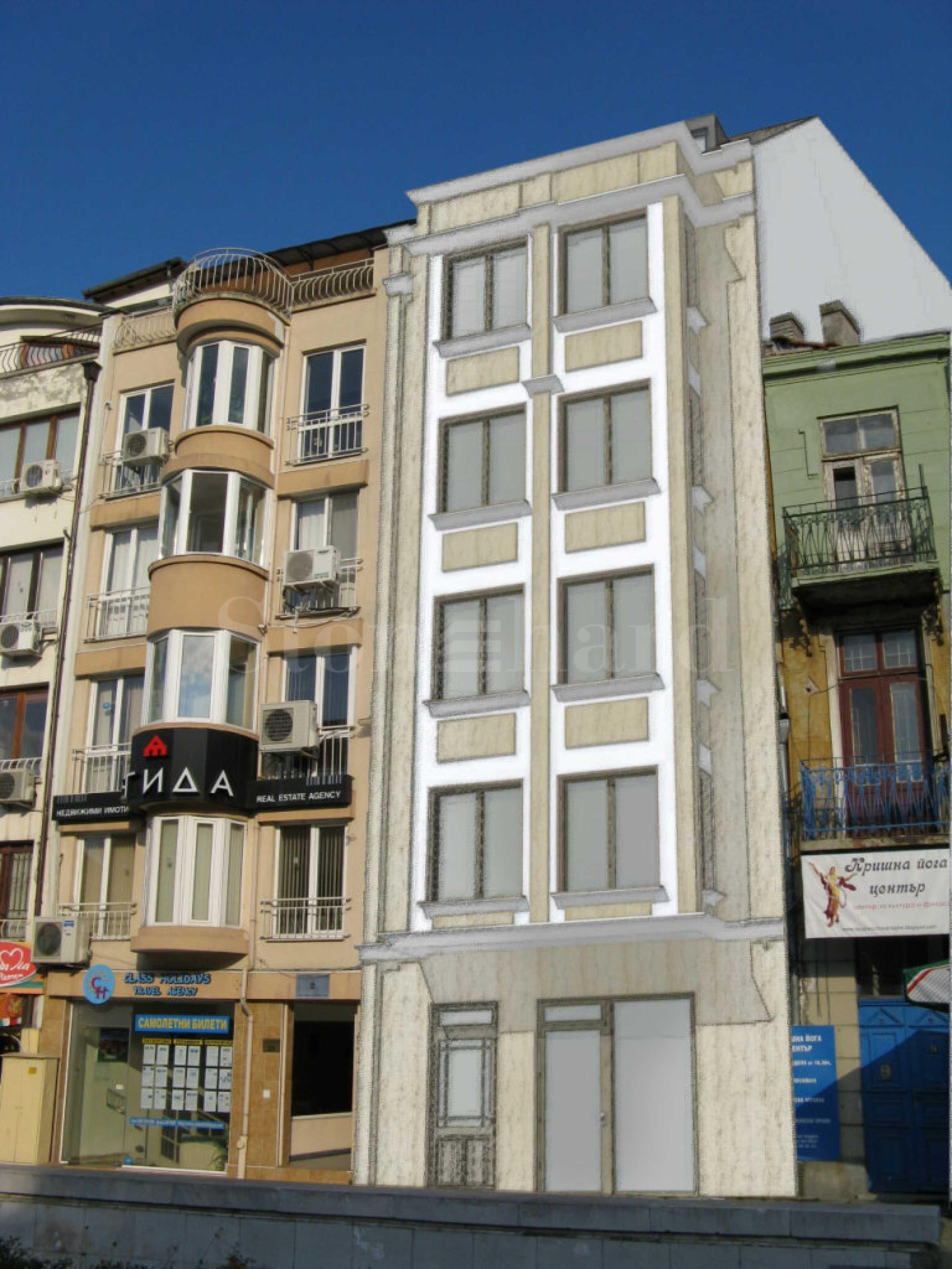 Луксозна сграда с апартаменти и офиси в топ центъра2 - Stonehard