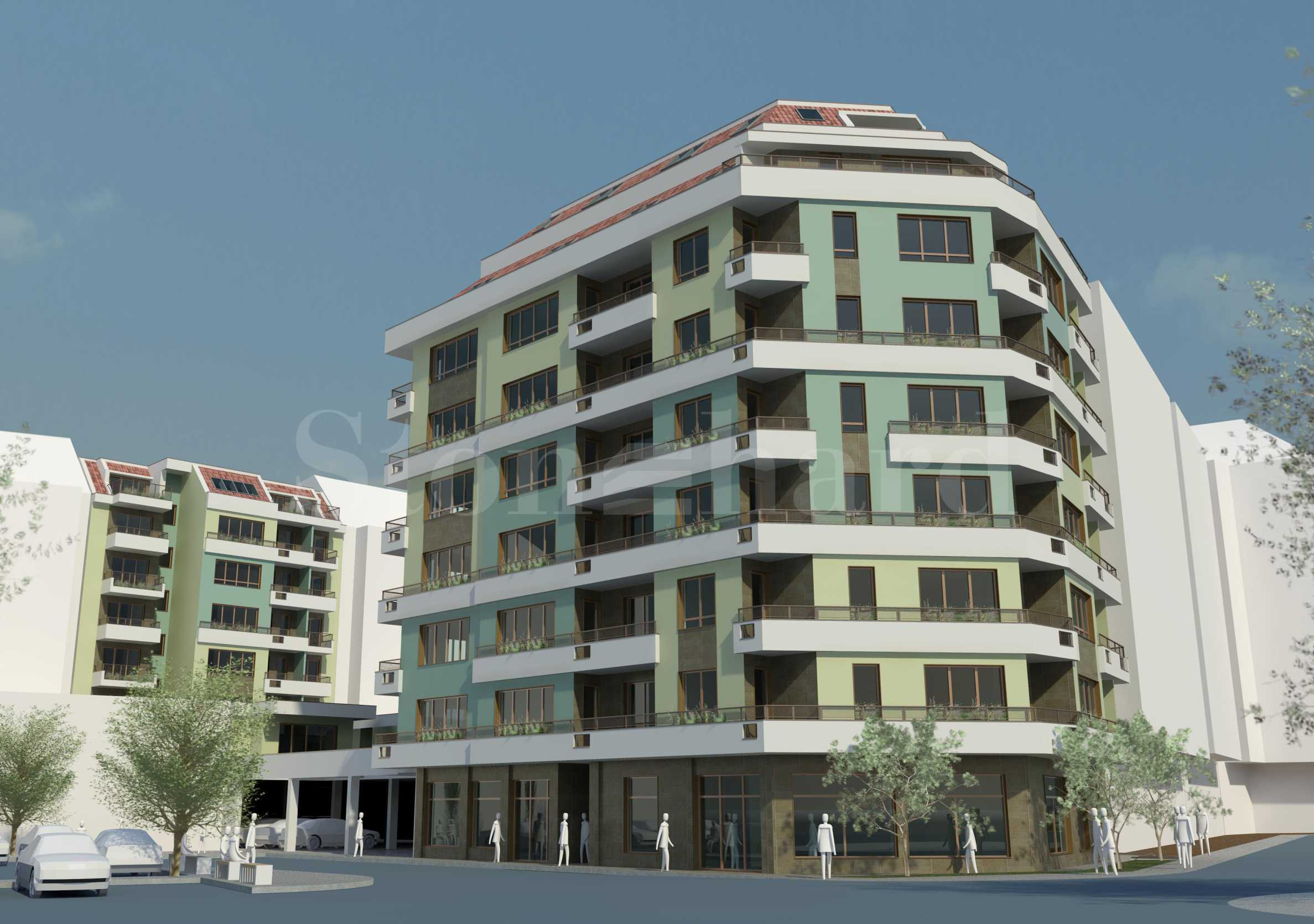 New residential building with shops and offices in Burgas, Slaveykov neighborhood1 - Stonehard