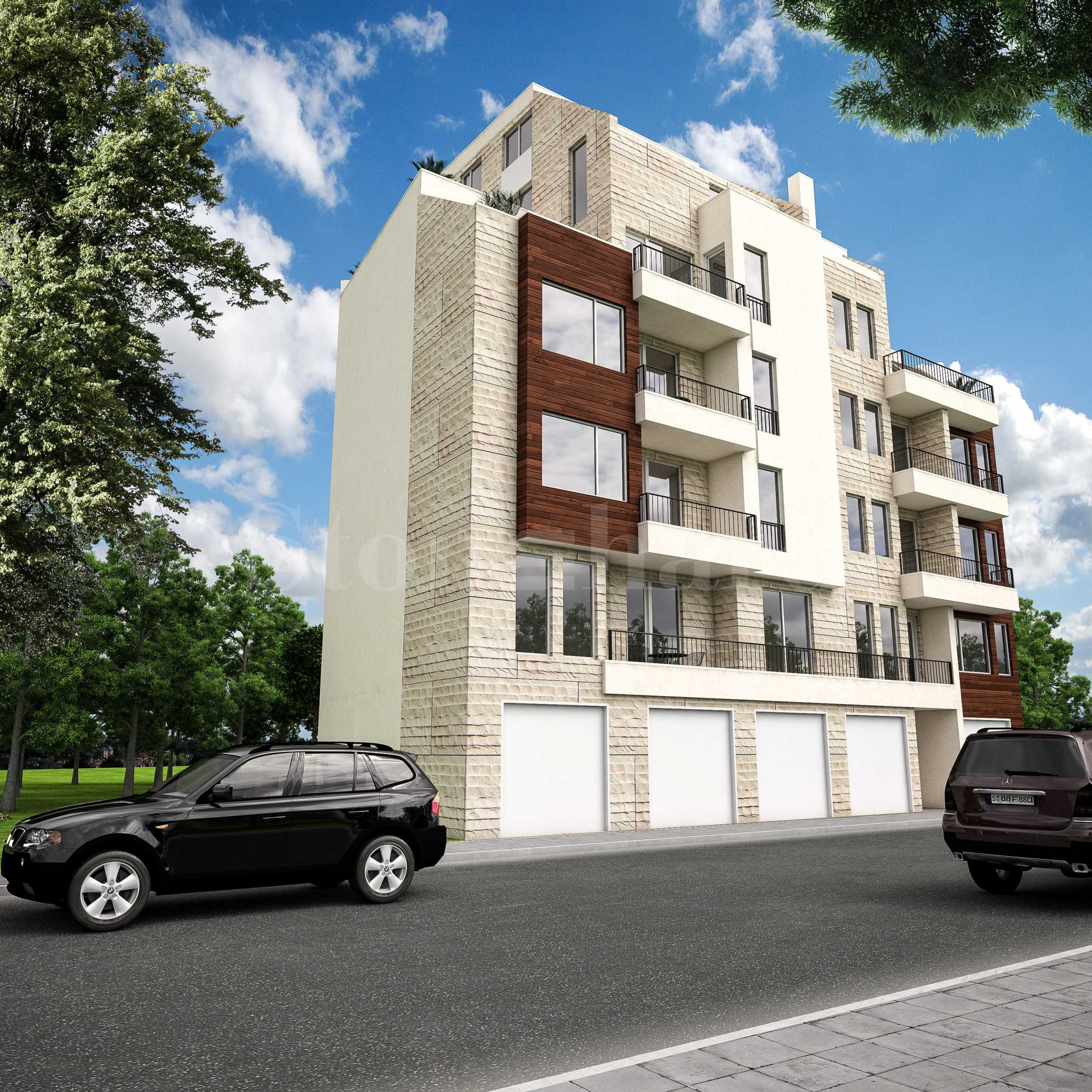 New elegant 5-storey building in the central area of Burgas1 - Stonehard