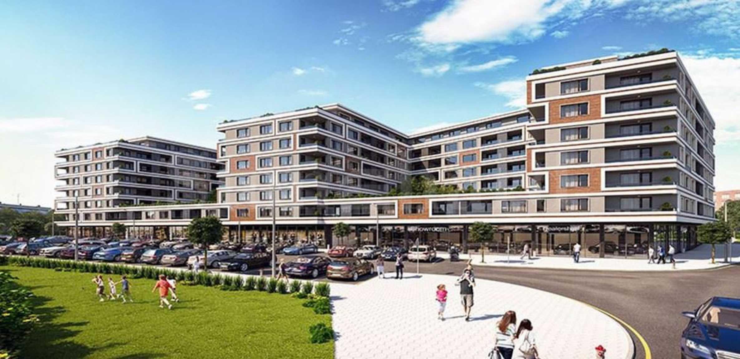Многофункционална нова сграда в ж.к. Славейков 1 - Stonehard