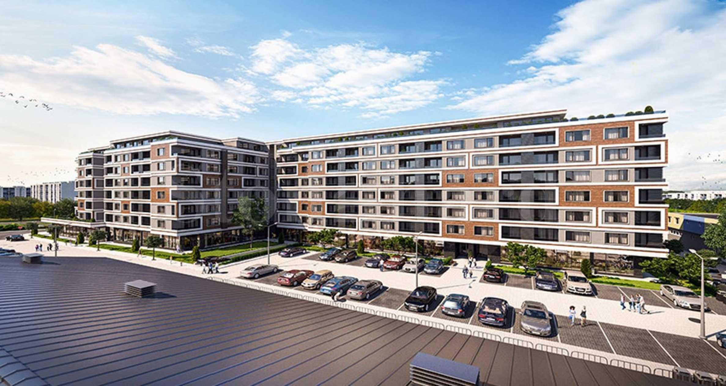 Многофункционална нова сграда в ж.к. Славейков 2 - Stonehard