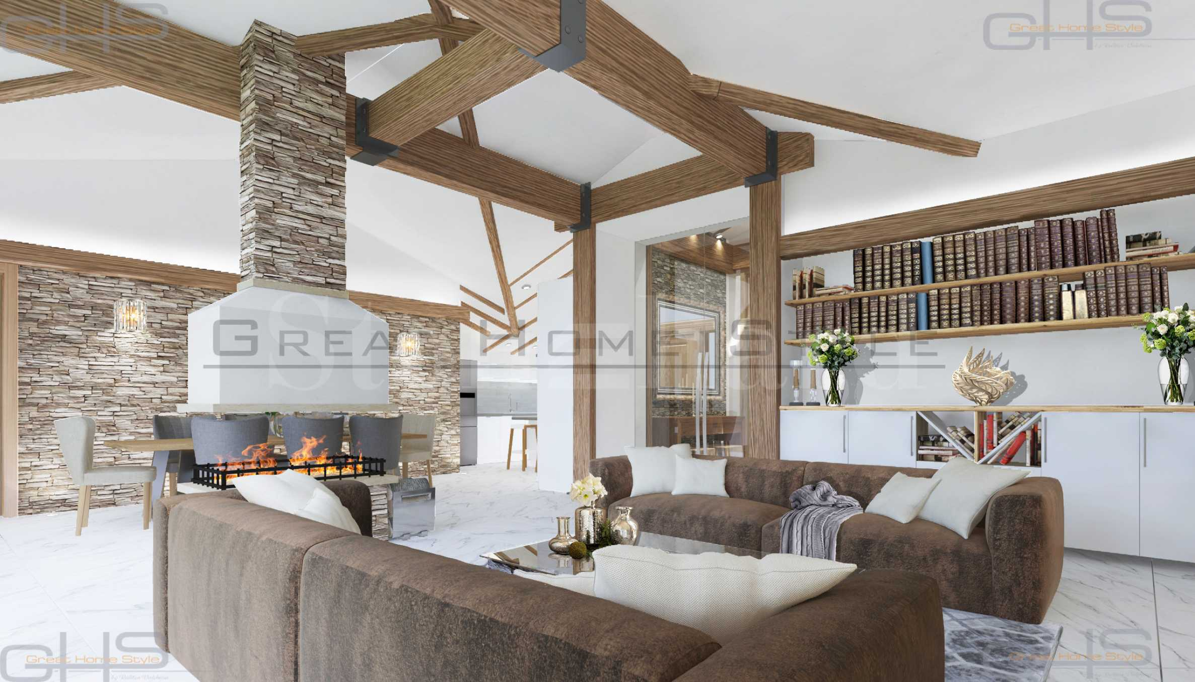 Luxury fully furnished houses near the mountain & Pirin Golf 2 - Stonehard