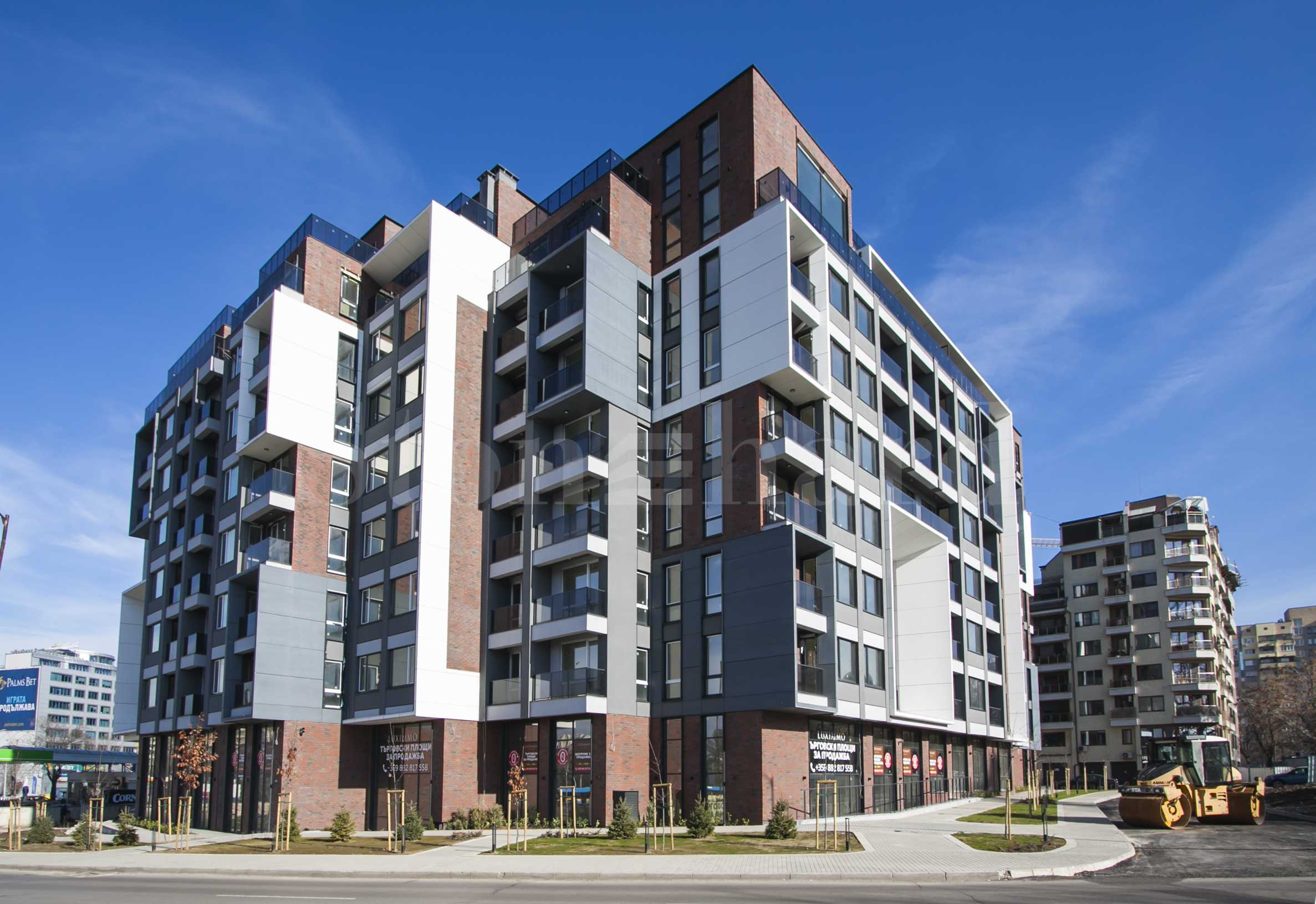 New residential complex with a commercial part near the city center1 - Stonehard