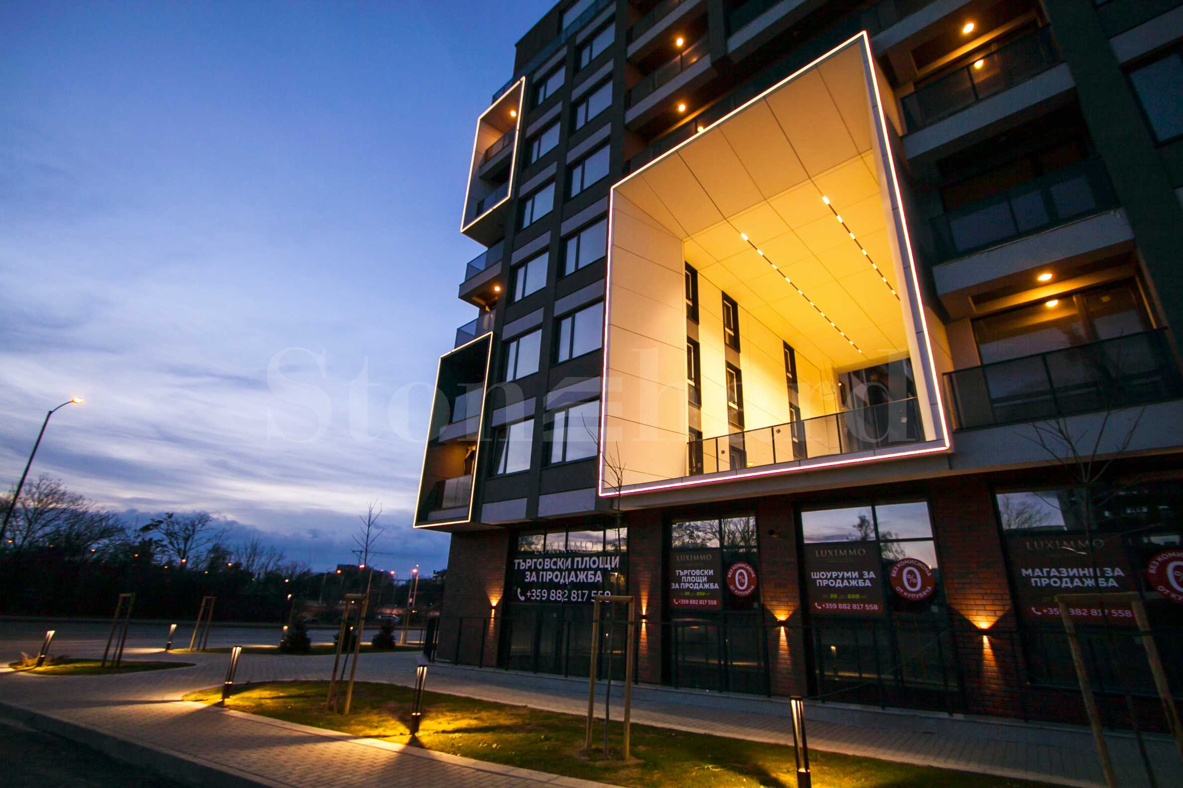 New residential complex with a commercial part near the city center2 - Stonehard