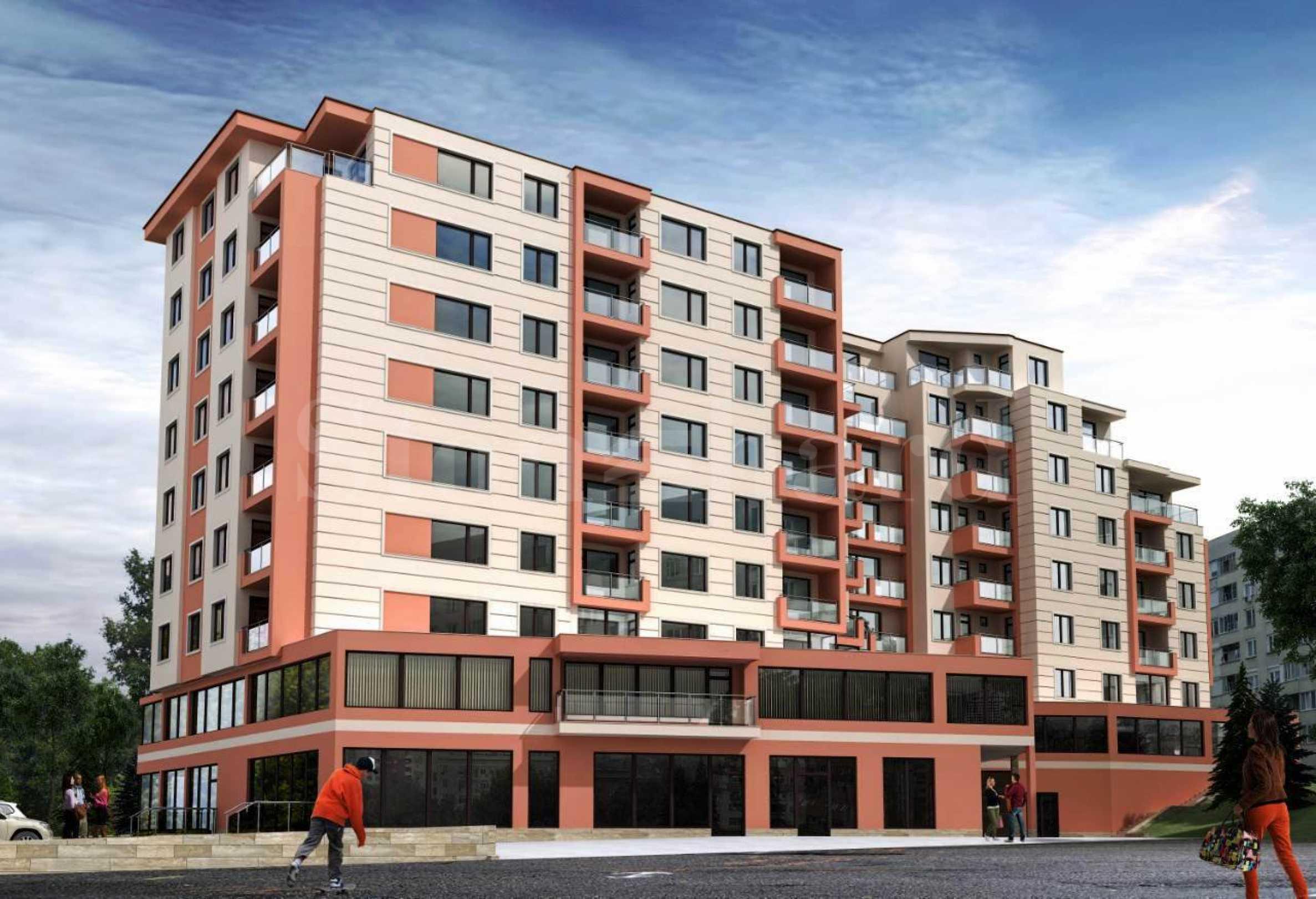 Различни типове апартаменти в нова сграда в кв. Трошево1 - Stonehard
