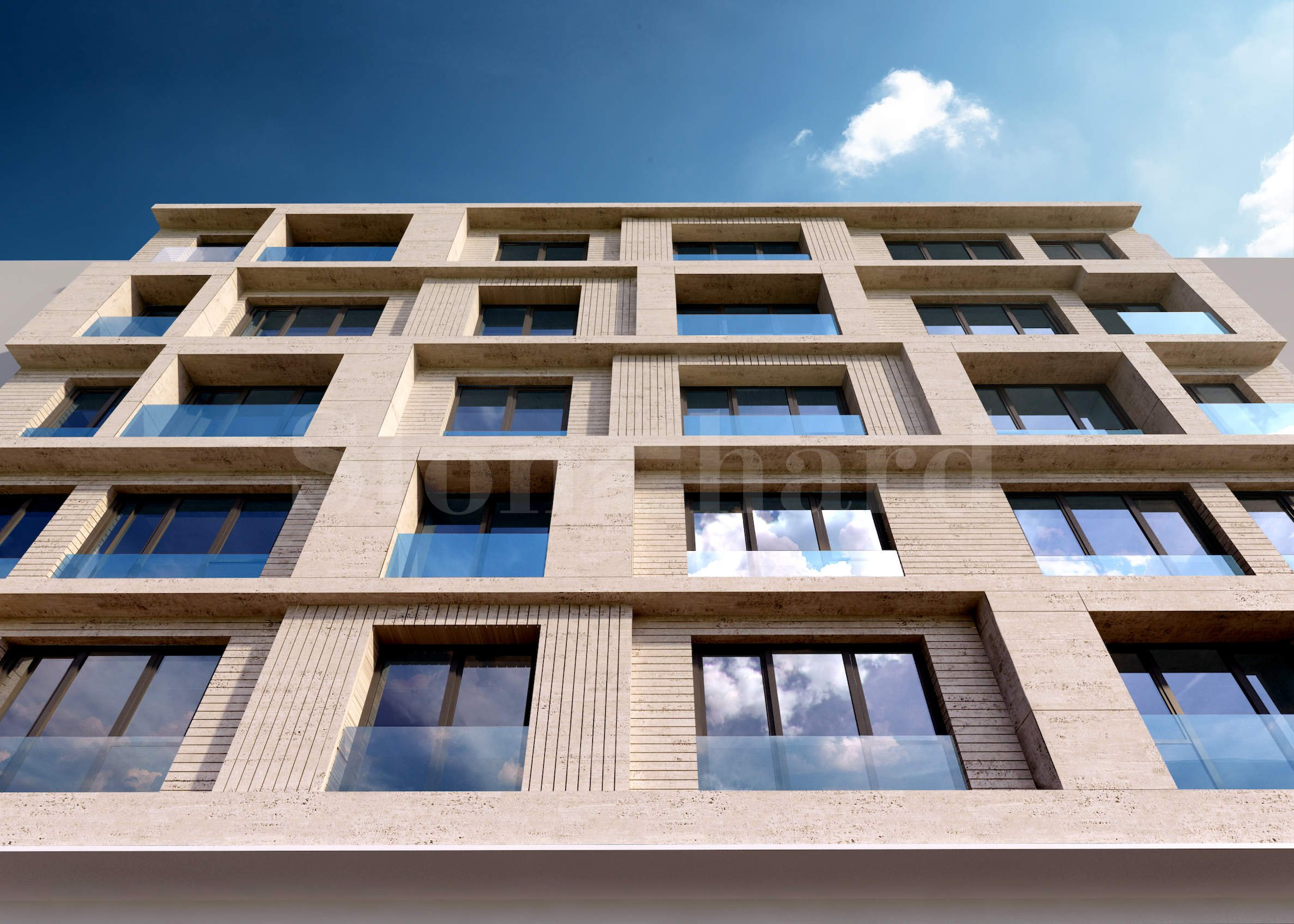 New building in the central part of Sofia, close to Opalchenska metro station and Mall of Sofia2 - Stonehard