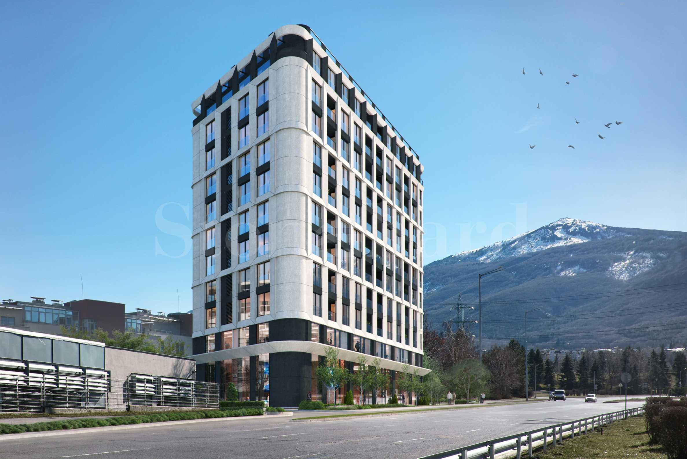 Via Bulgaria: Луксозна нова сграда на бул. България1 - Stonehard