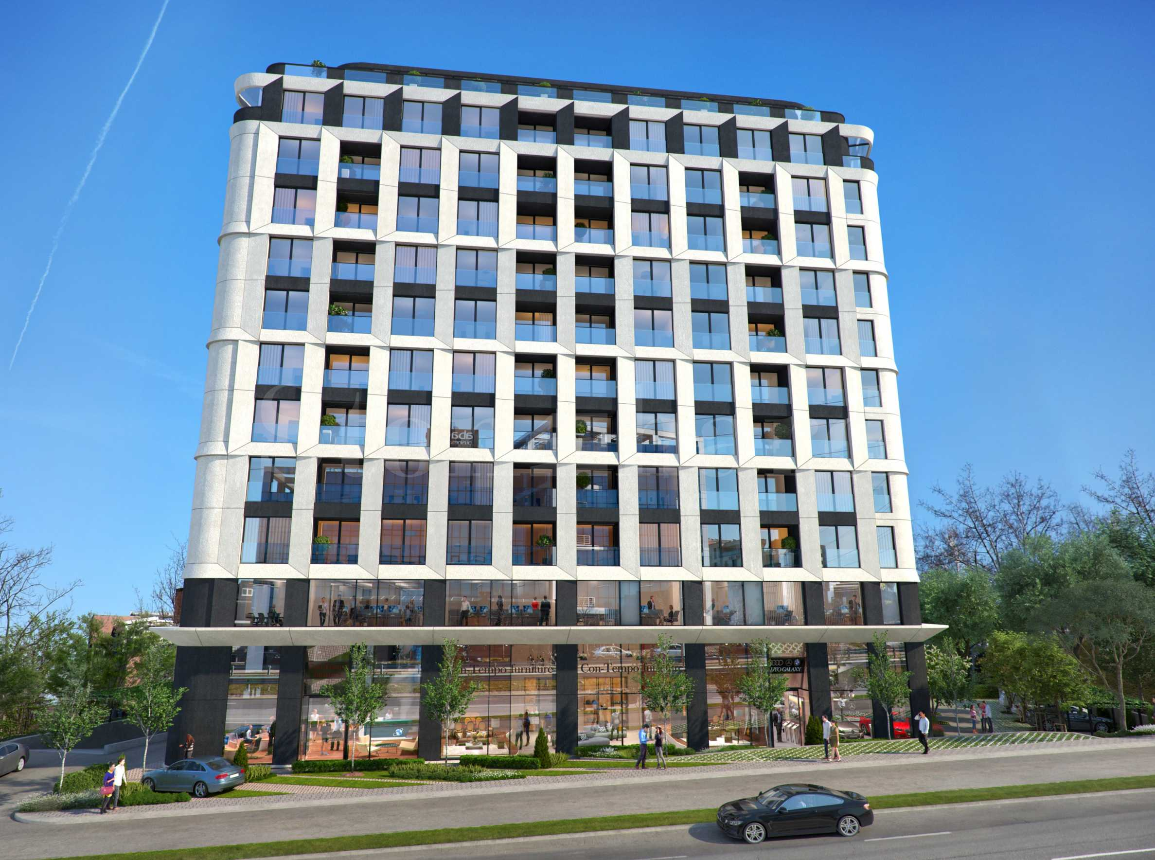 Via Bulgaria: Луксозна нова сграда на бул. България2 - Stonehard