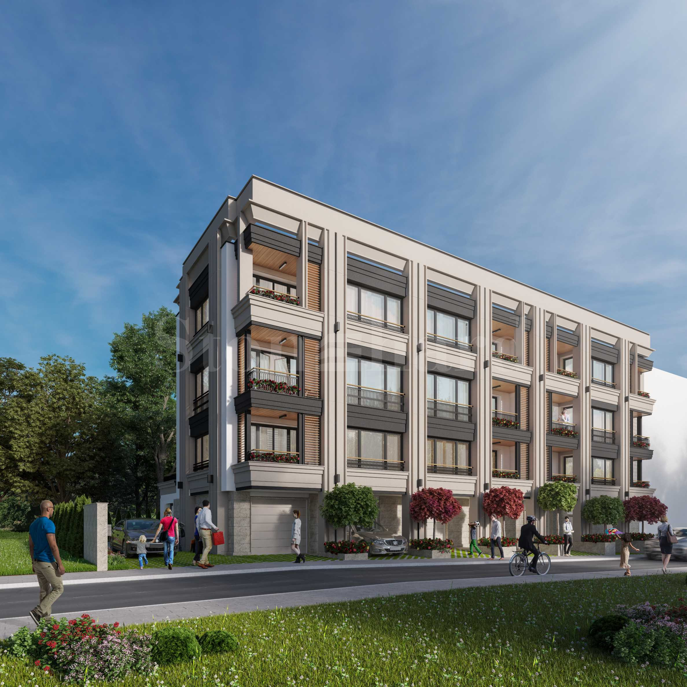 Beautiful new-build building with apartments for sale in Burgas1 - Stonehard