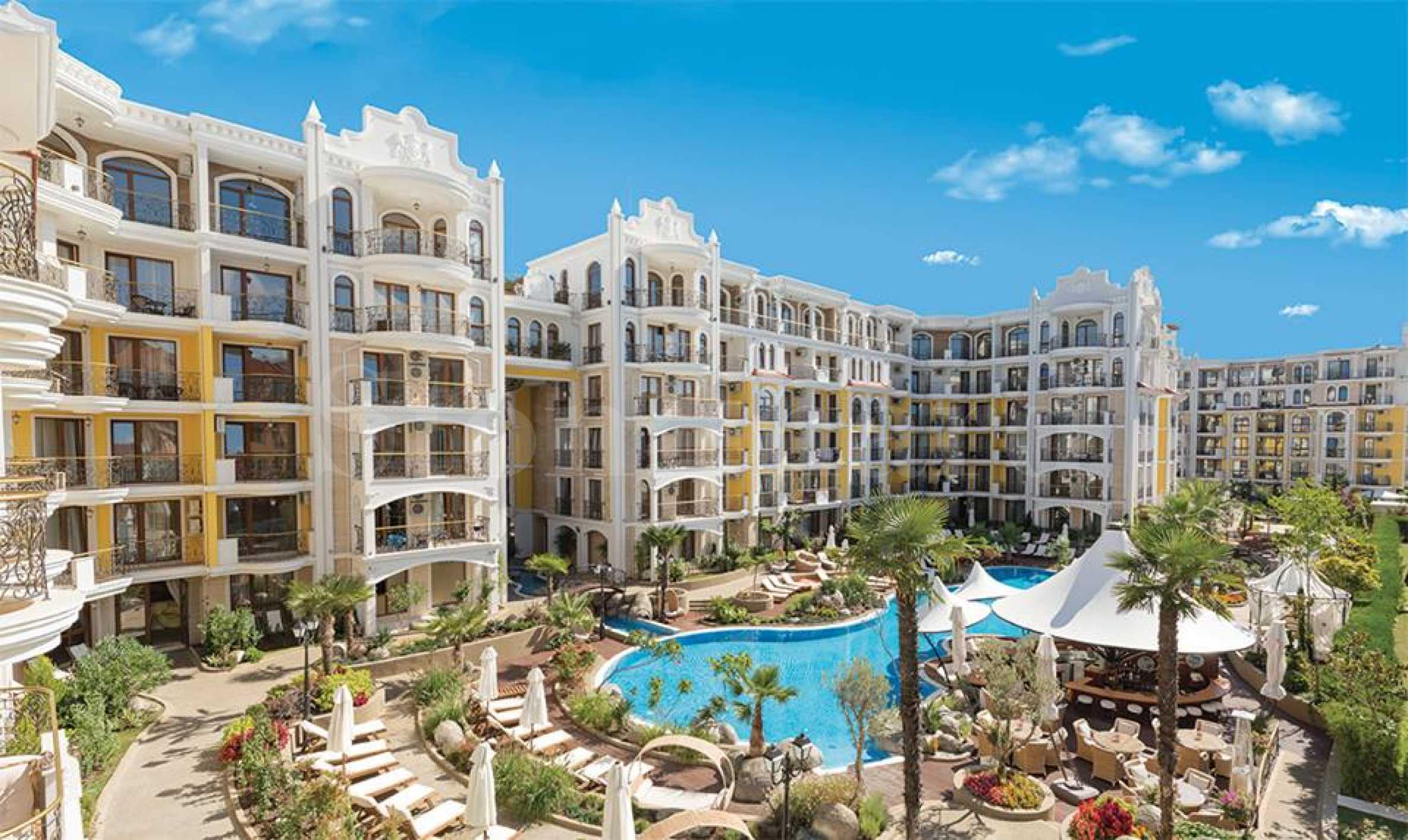 Impressive complex with a luxury Mediterranean style with elite apartments in Sunny Beach2 - Stonehard