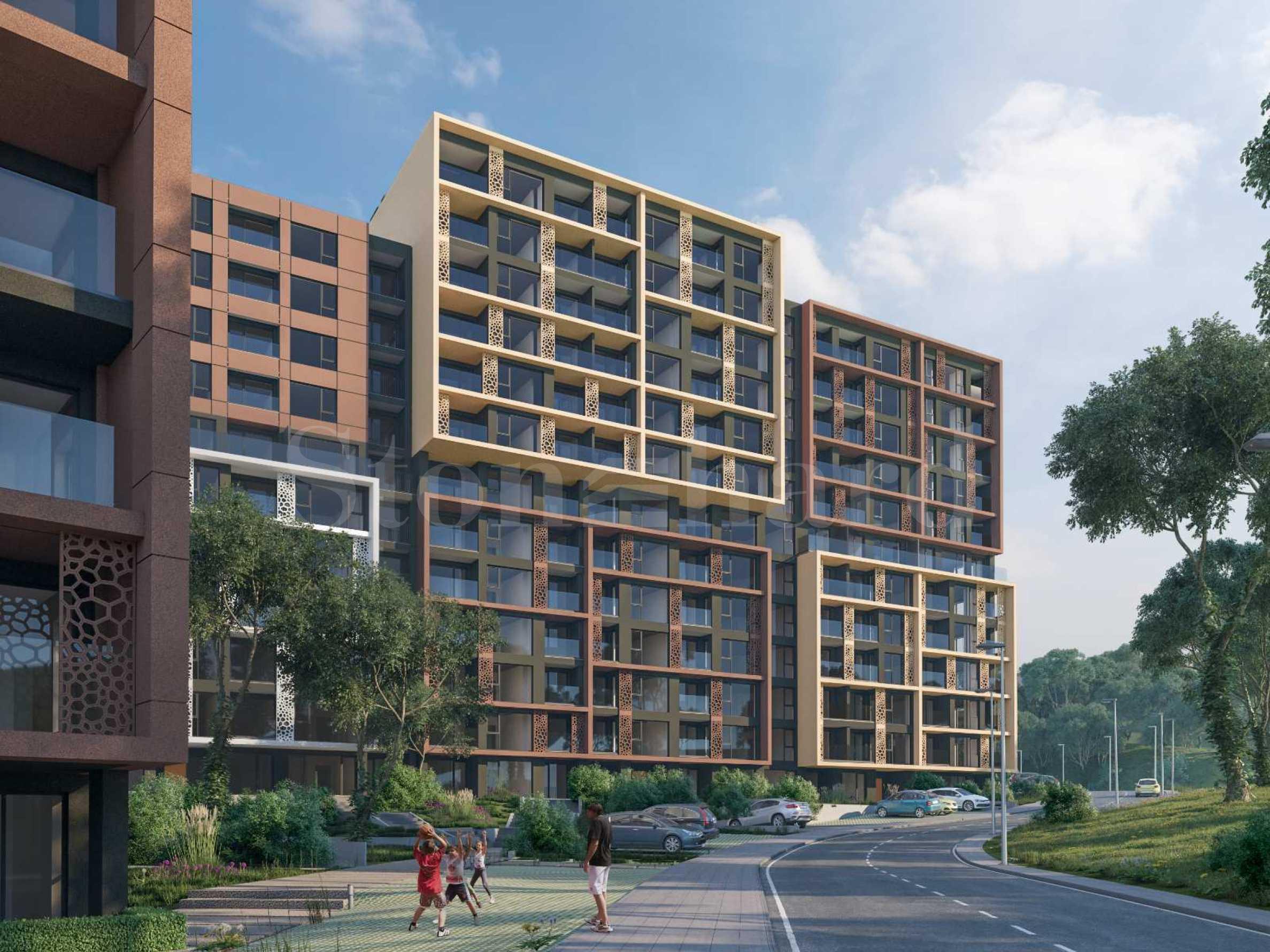 Модерен жилищен комплекс с впечатляваща визия в кв. Бриз, гр. Варна1 - Stonehard