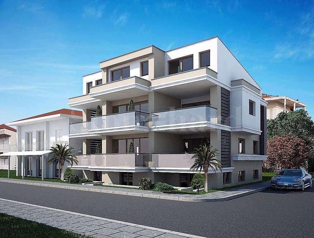 Тристаен апартамент първа линия на морето в Созополи, Халкидики1 - Stonehard