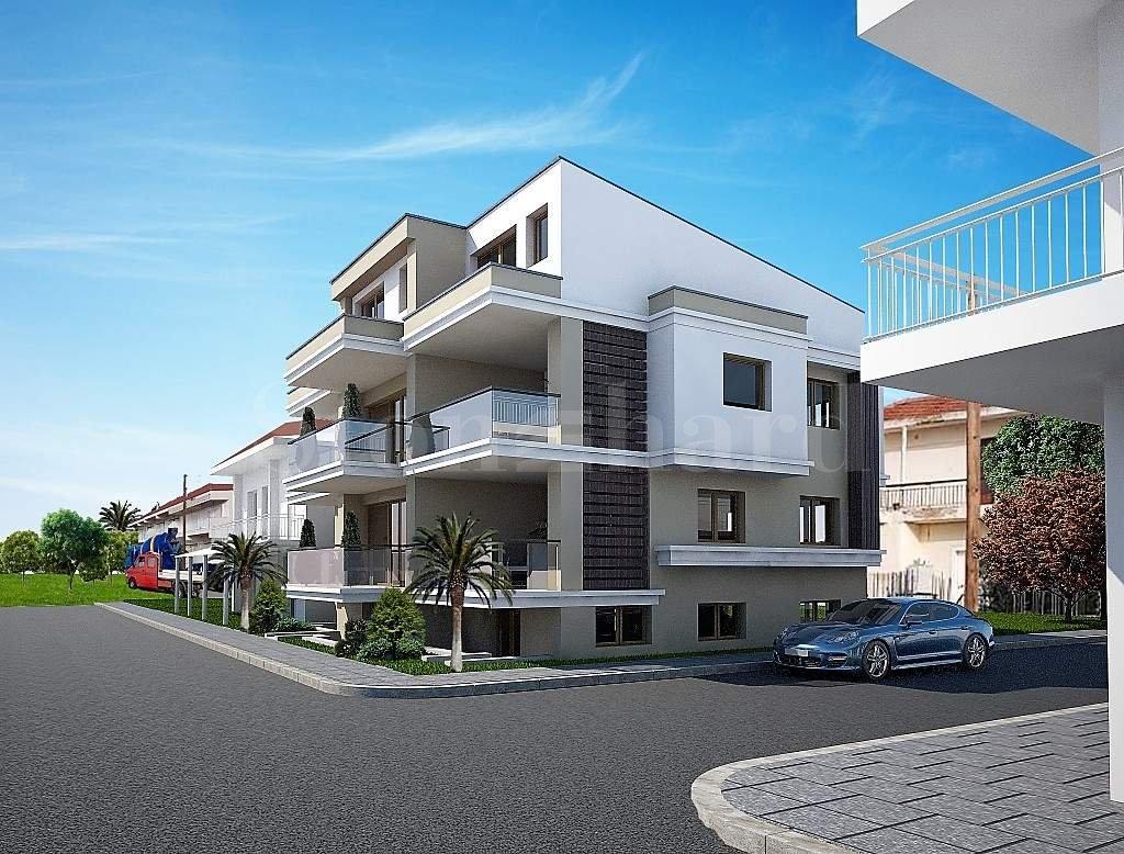 Тристаен апартамент първа линия на морето в Созополи, Халкидики2 - Stonehard