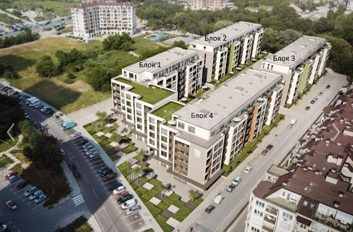 Нов проект от 4 жилищни сгради в комуникативен района на Варна1 - Stonehard