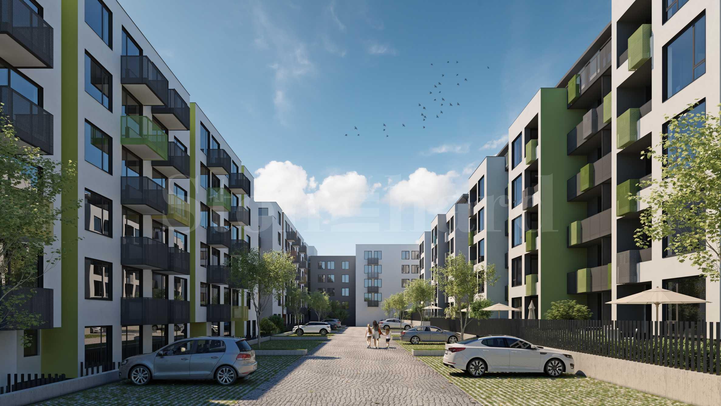 Нов проект от 4 жилищни сгради в комуникативен района на Варна2 - Stonehard